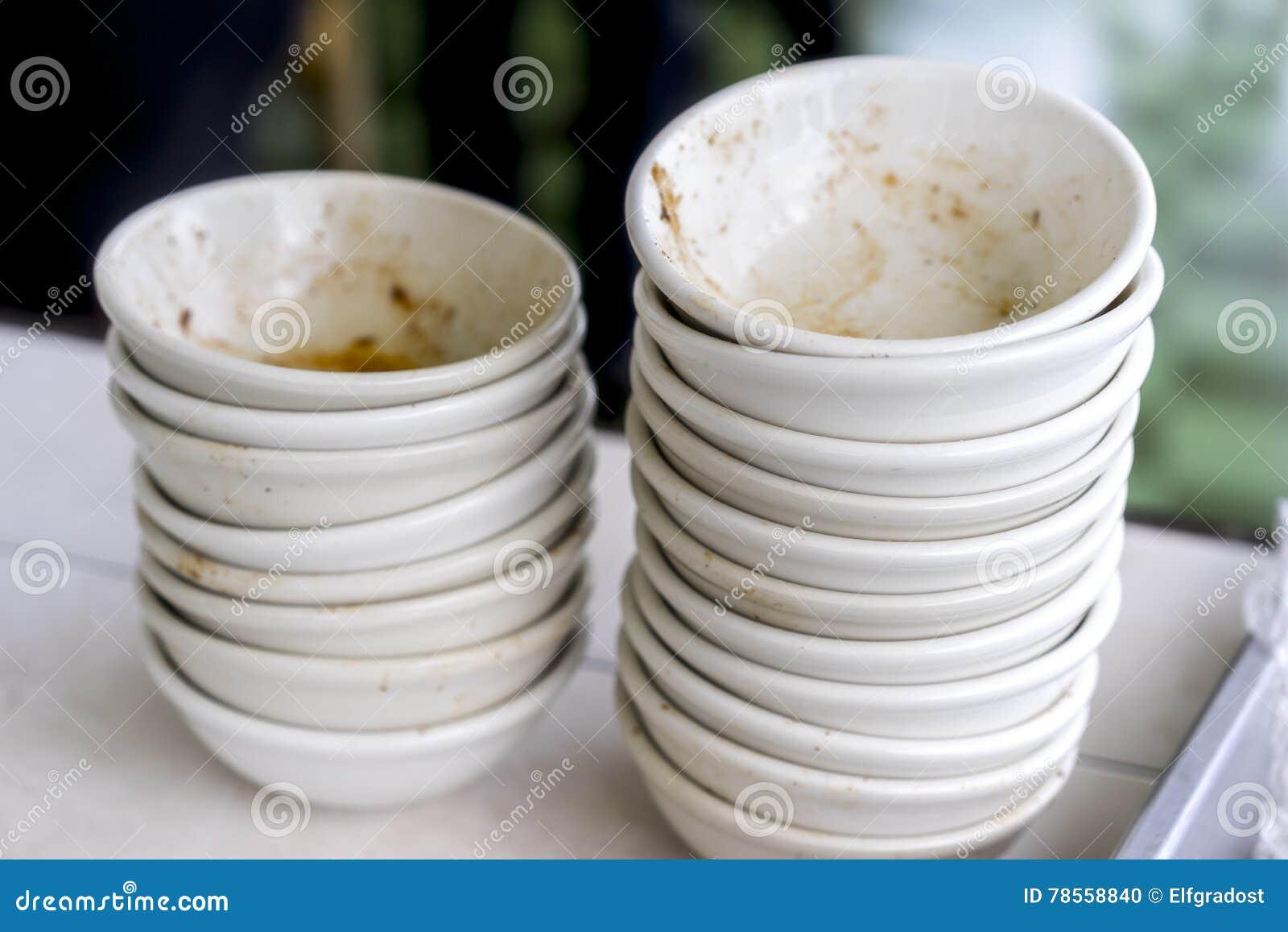 Dirty Dishes Royalty Free Stock Photo Cartoondealer Com