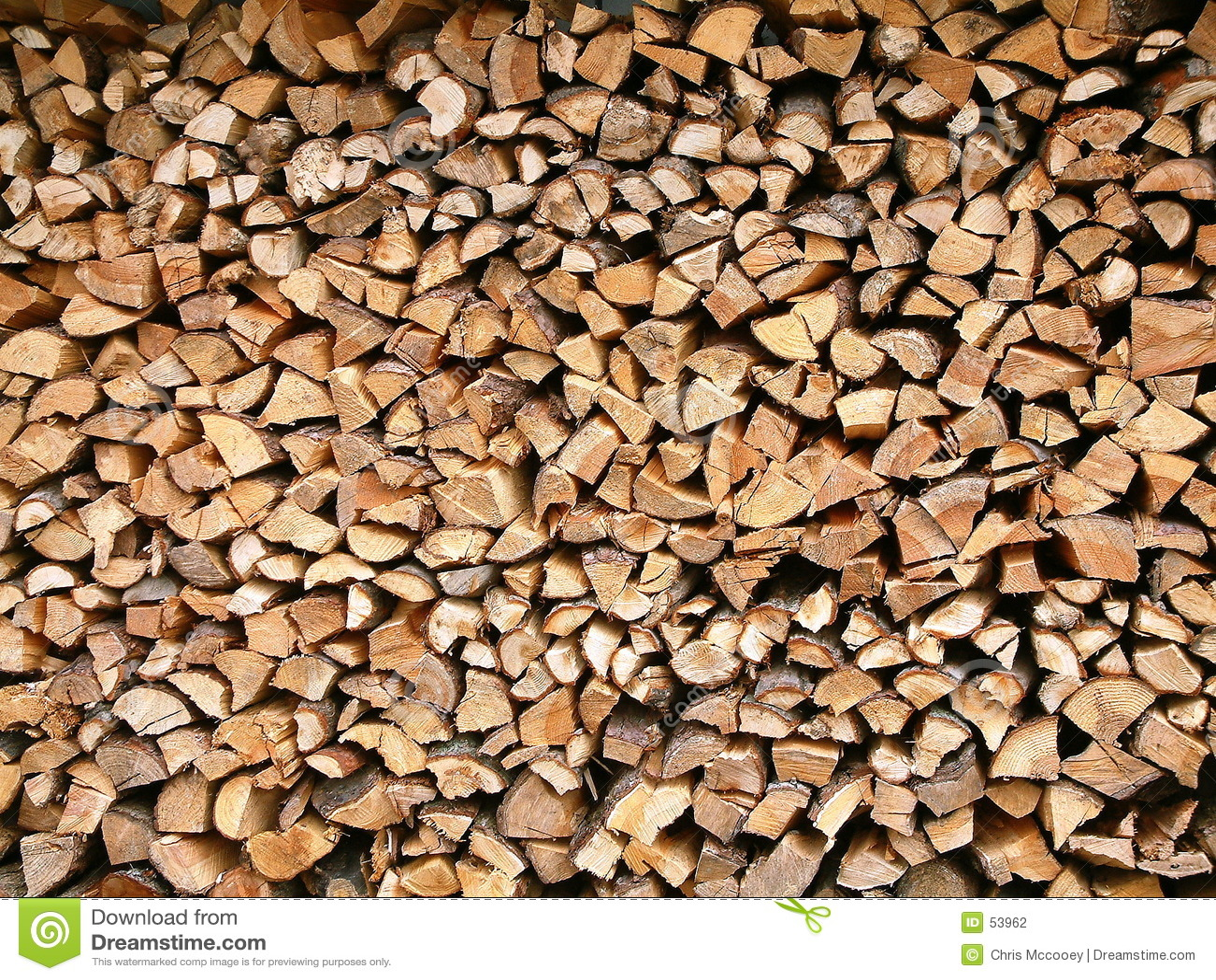 Stack drewna