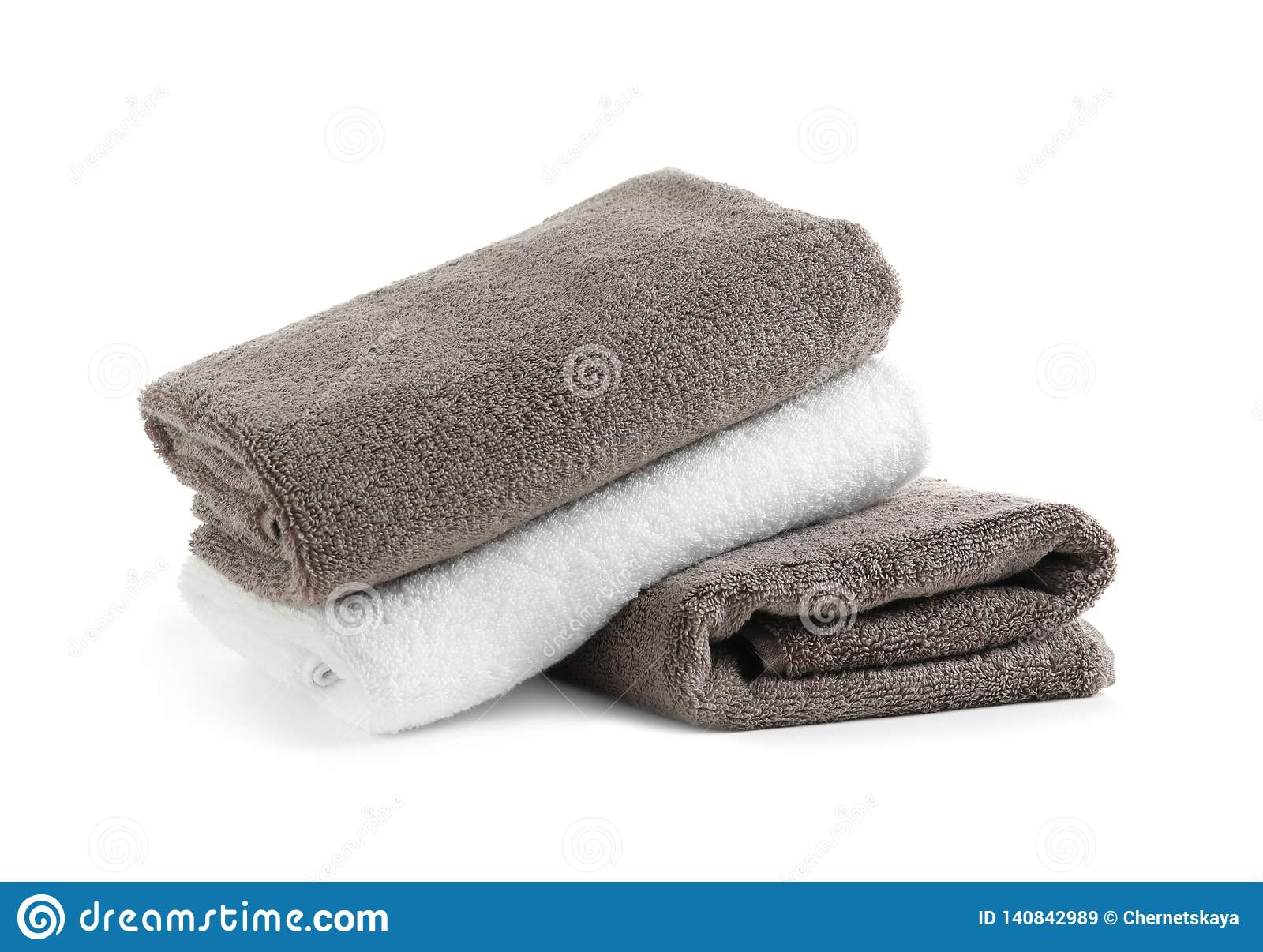 Stack of fresh towels