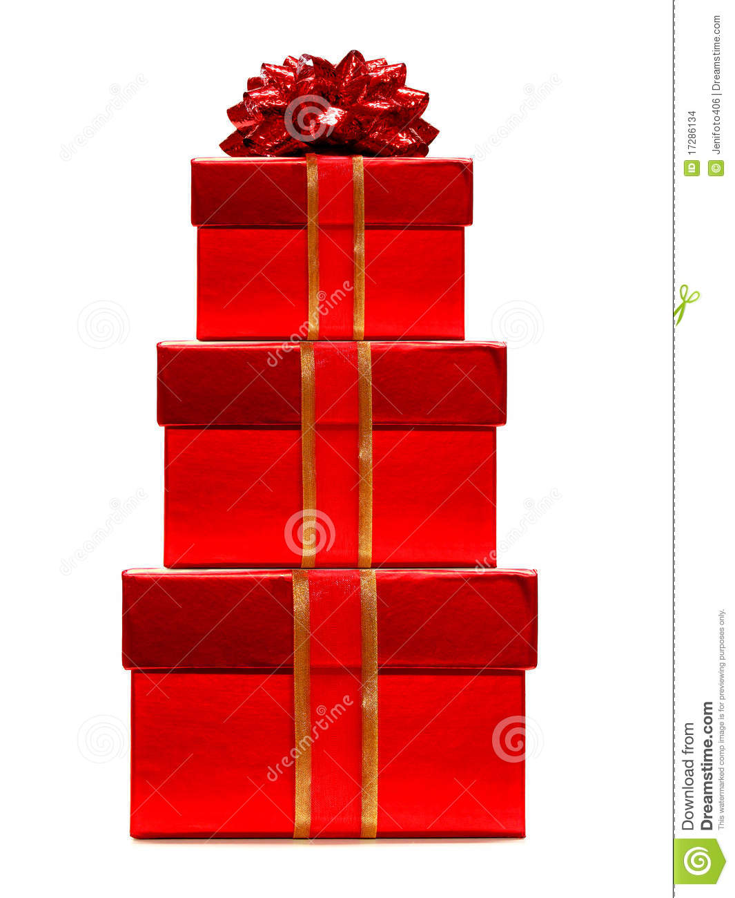 Stack Of Gifts Stock Images Image 17286134