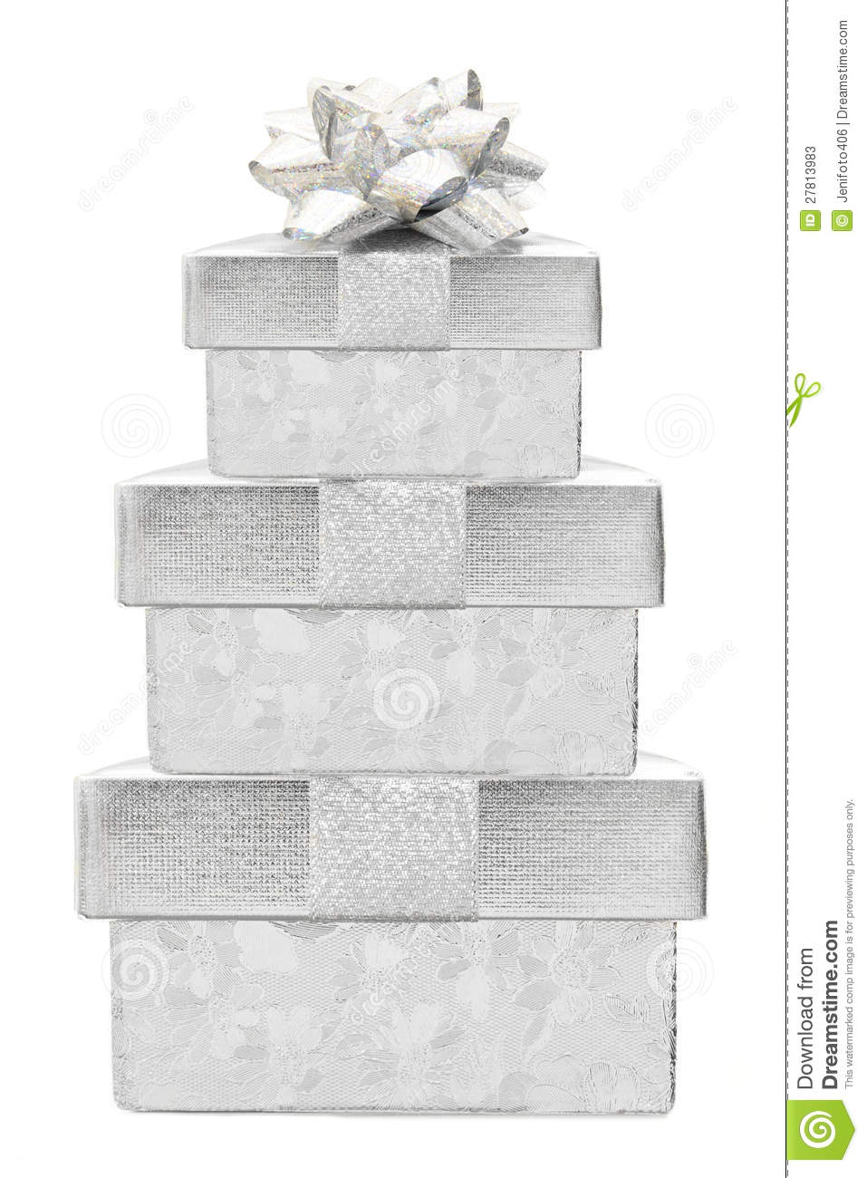 Stack of gifts stock photos image