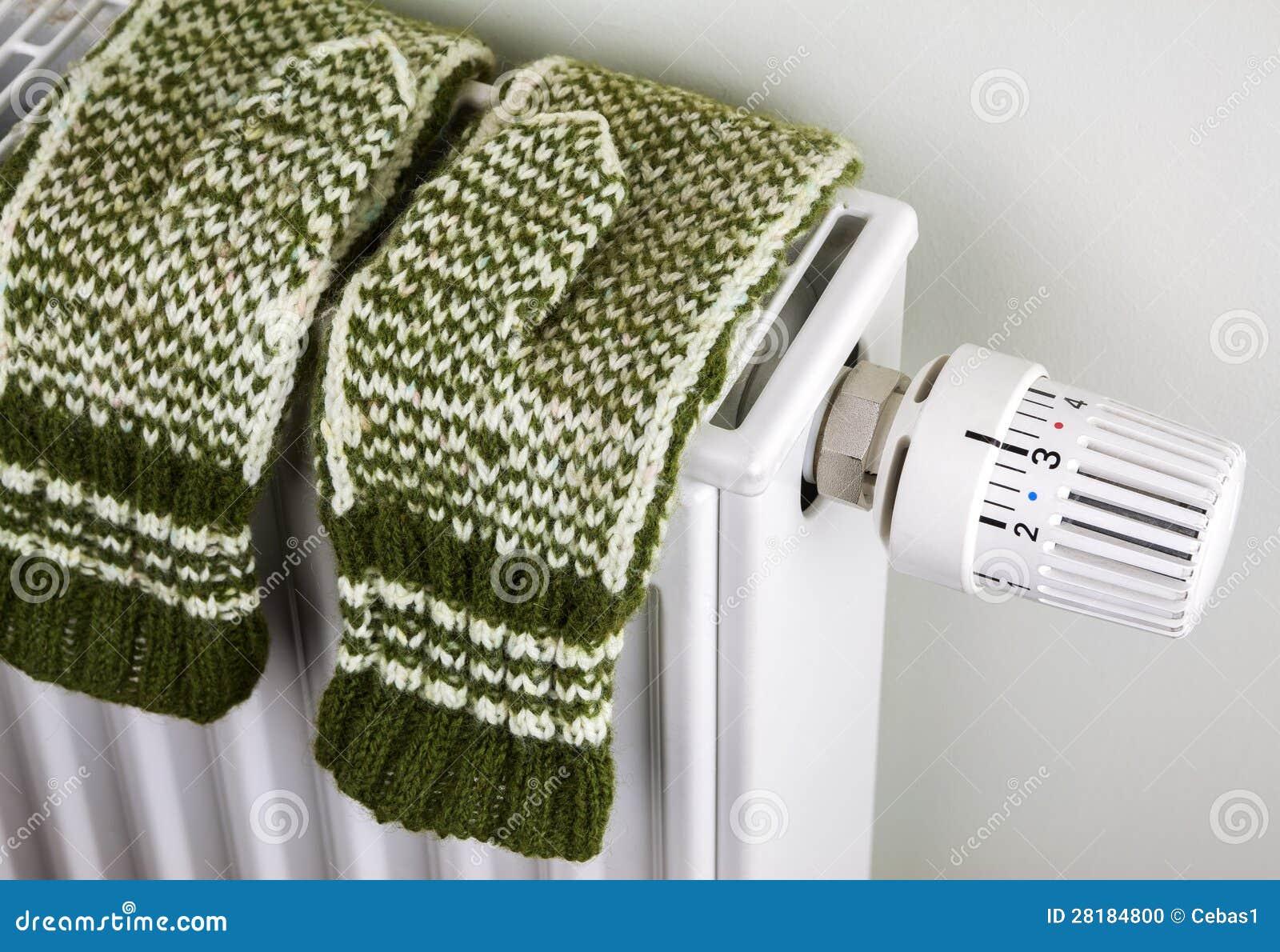 Stack handskar på element