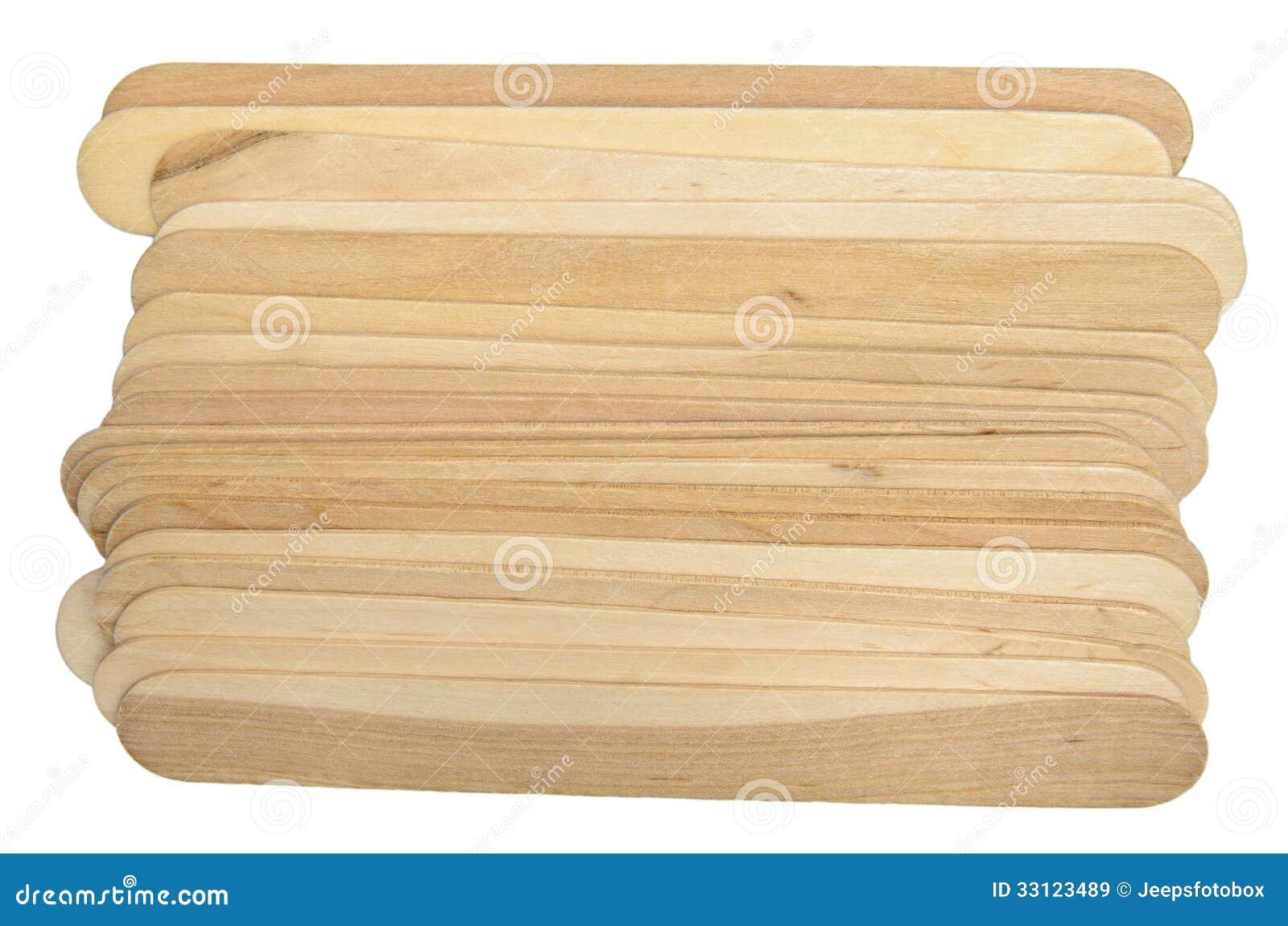 Natural Jumbo Wood Craft Sticks