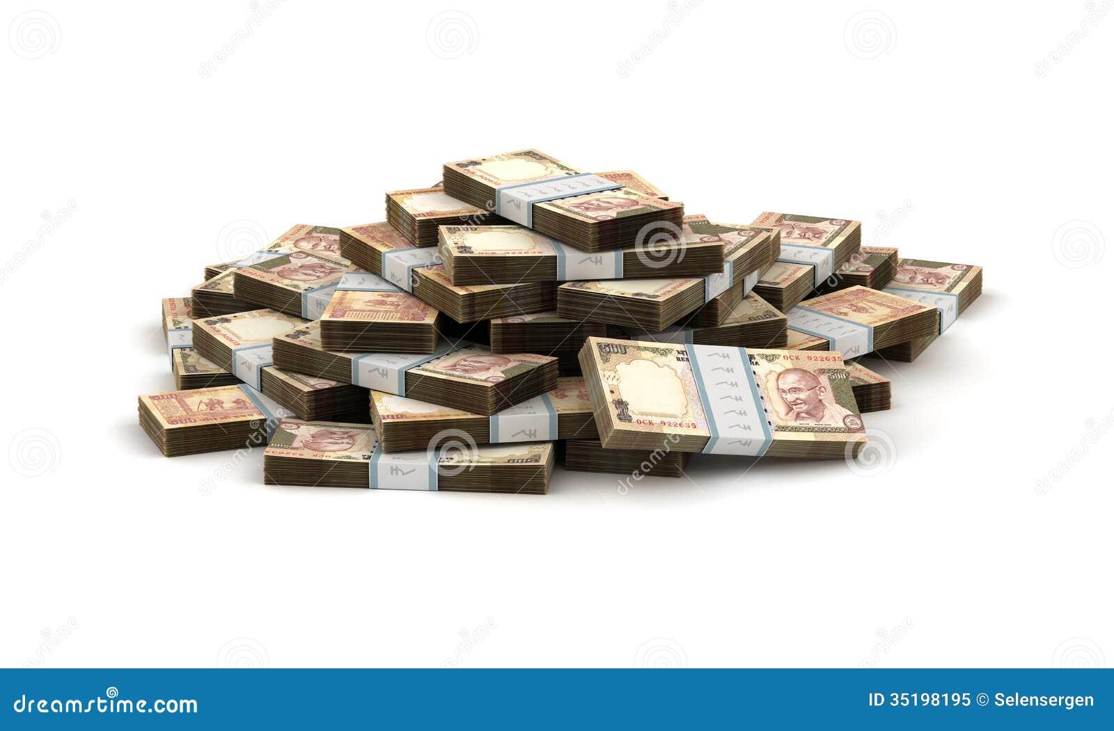123 million dollars in rupees