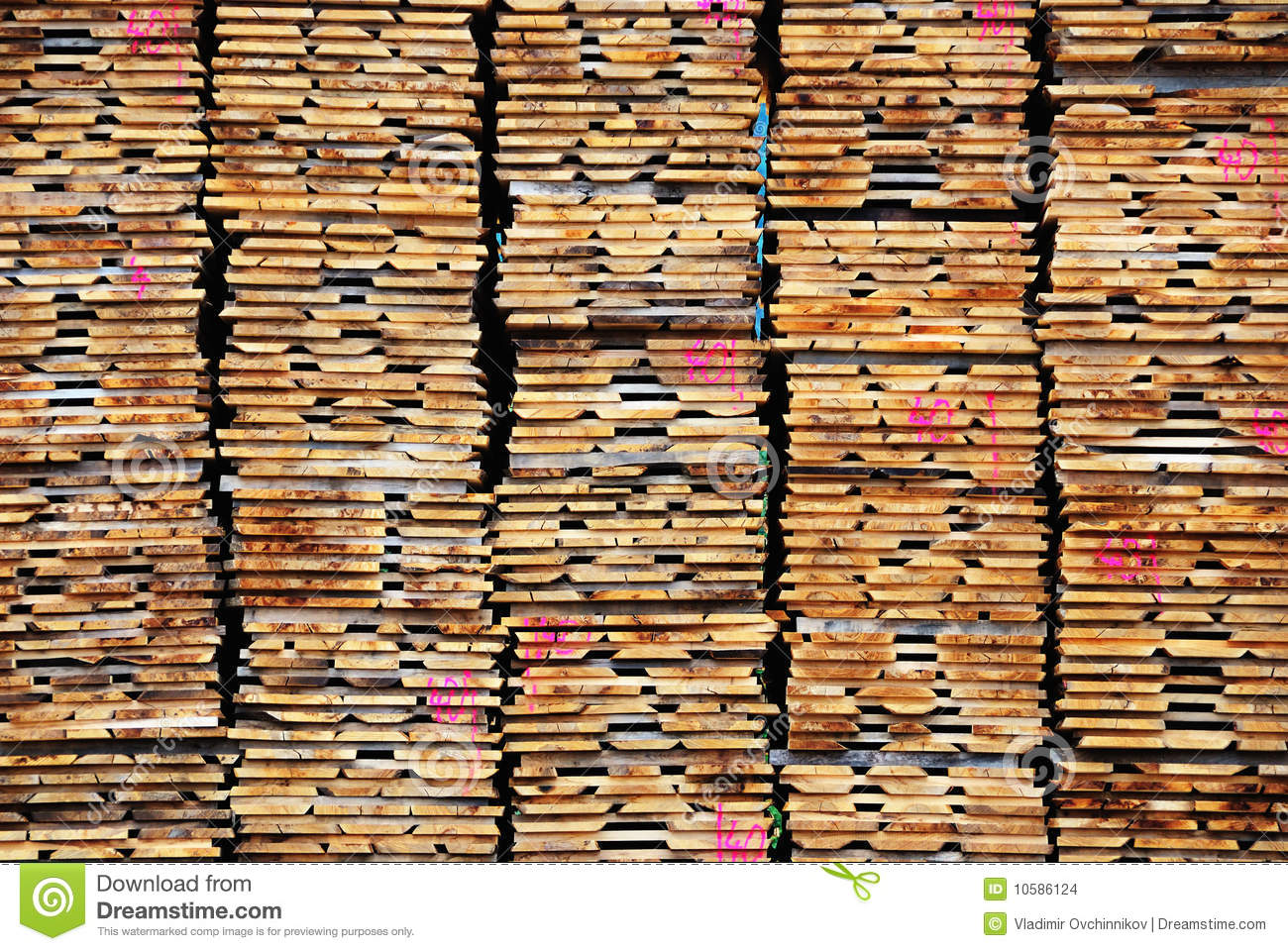 Stack of lumber stock images image