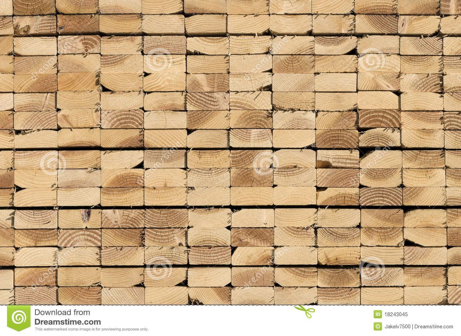 Stack of lumber royalty free stock photo image