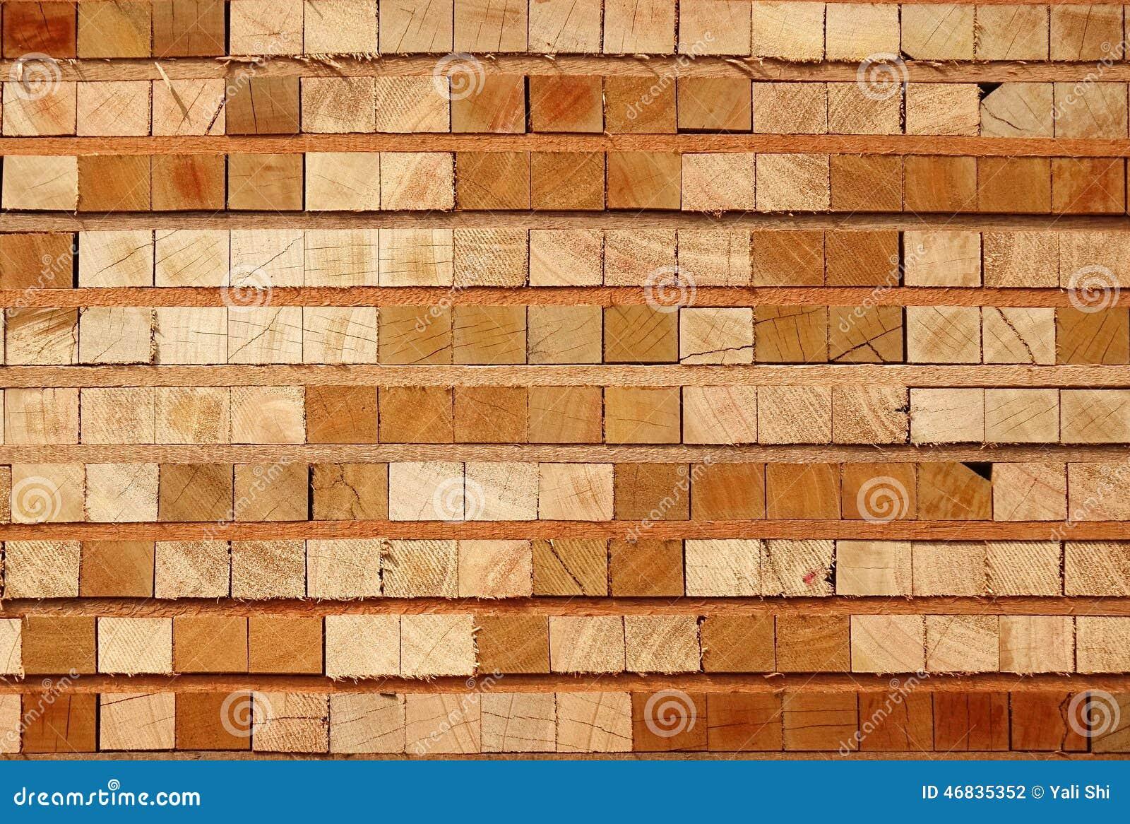 Stack Of Lumber Stock Photo Image 46835352