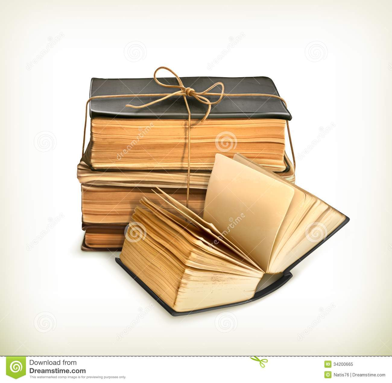 Book Cover Art Royalties : Stack of old books royalty free stock photo image