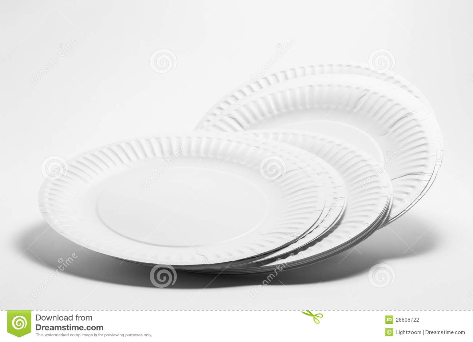Paper Plates Clipart