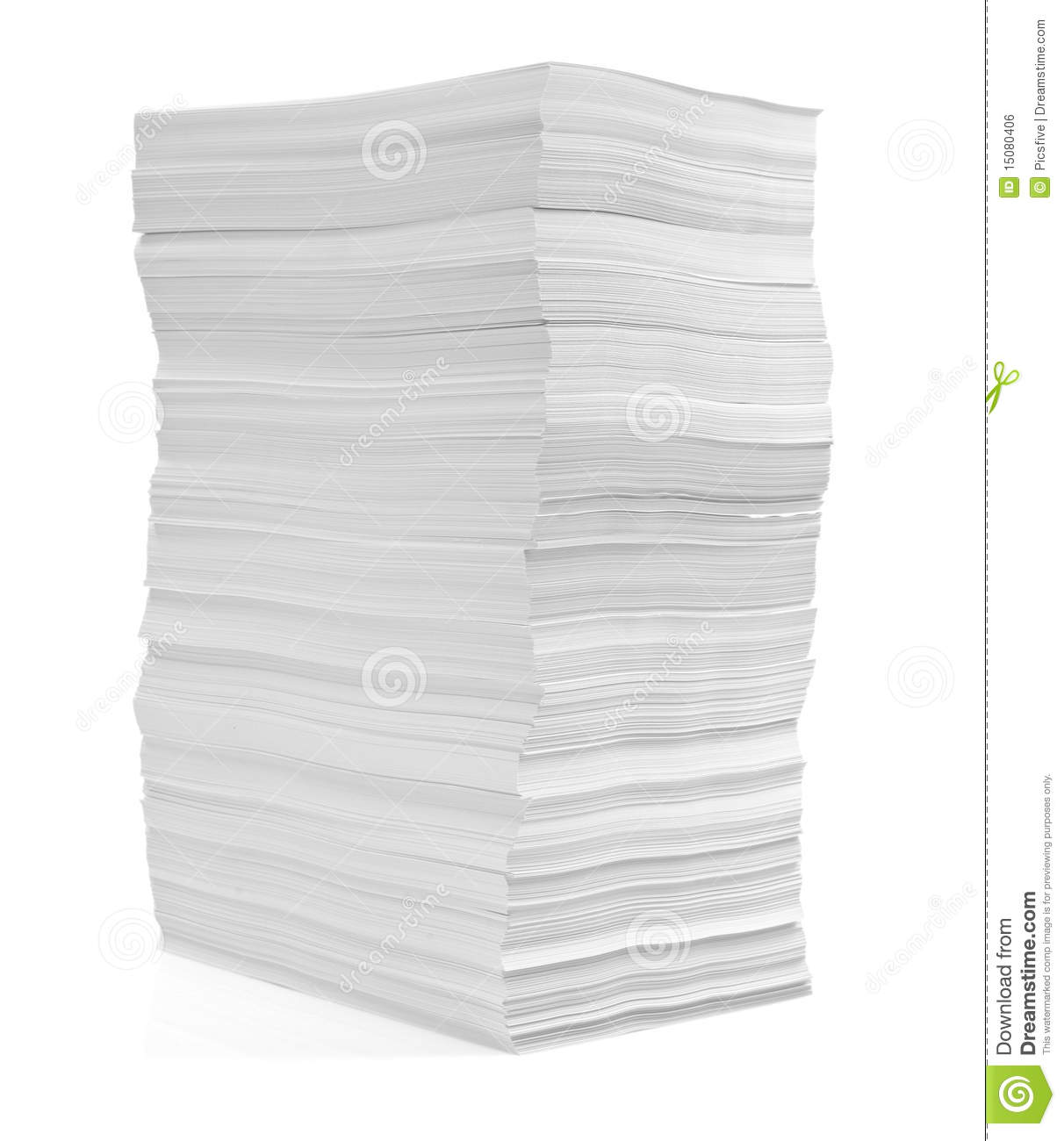 stack of papers documents office business royalty free