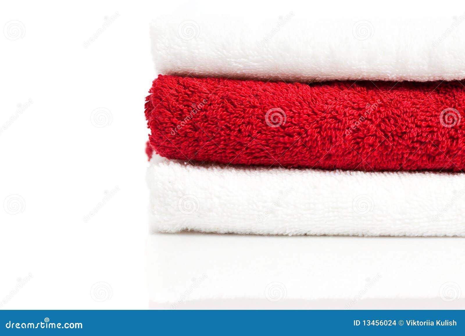 Red Bath Towels Hot Girls Wallpaper