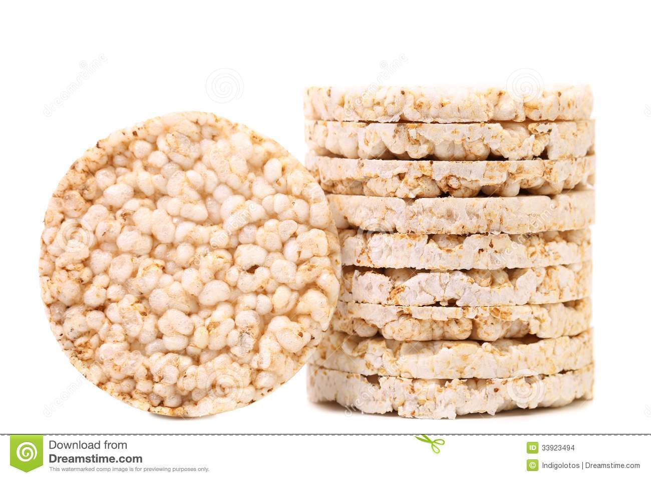 how to make healthy rice cakes
