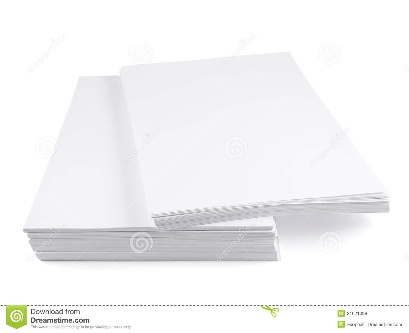 Stack Of A4 Size White Paper Sheet Royalty Free Stock Photo ...