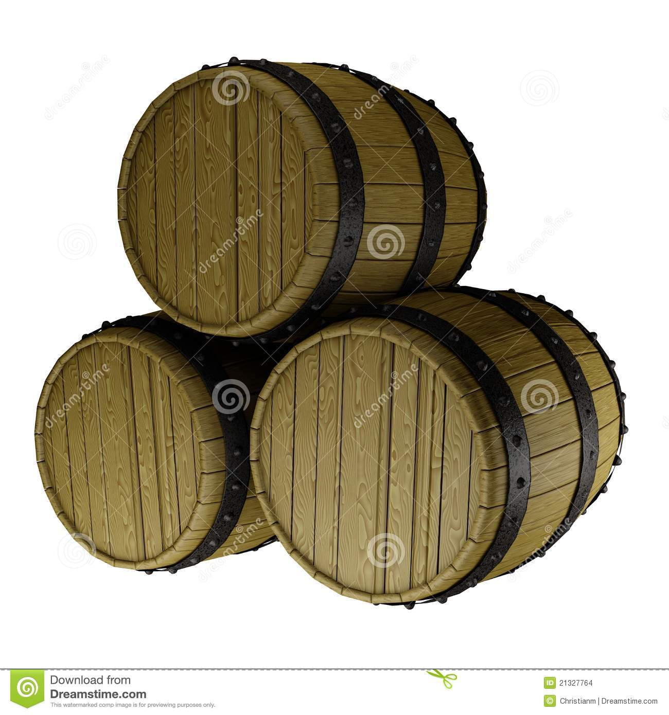 oak barrels stacked top. Oak Barrels Stacked Top. A Stack Of Three Top - .