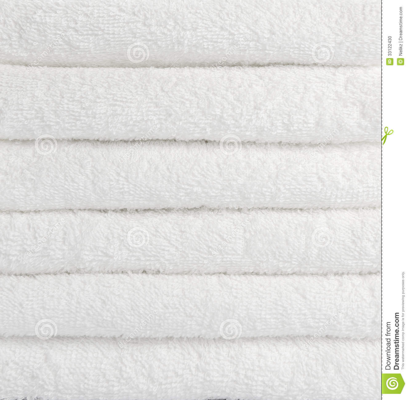 Stack of white towels stock photo image of luxury bath for How to get towels white