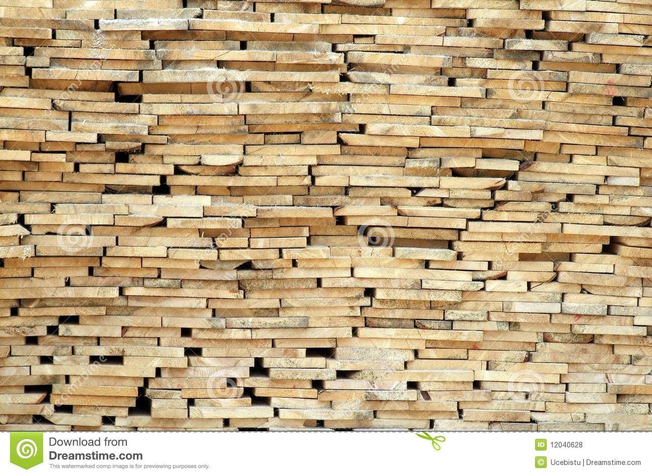 Stack of wood planks royalty free stock photos image