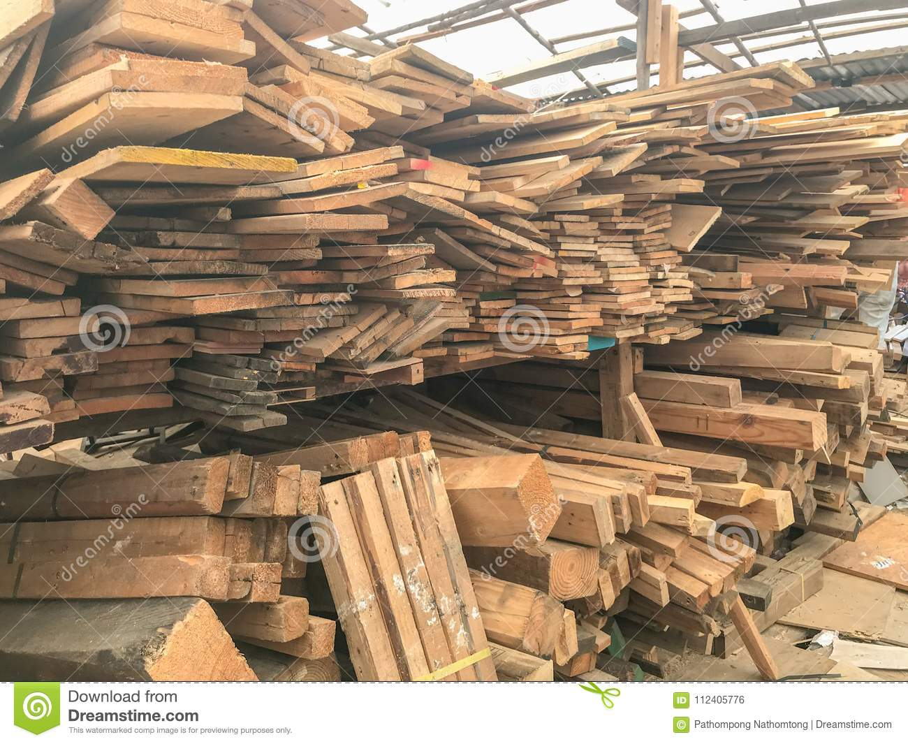 stack of wood in storage warehouse stock photo image of planking