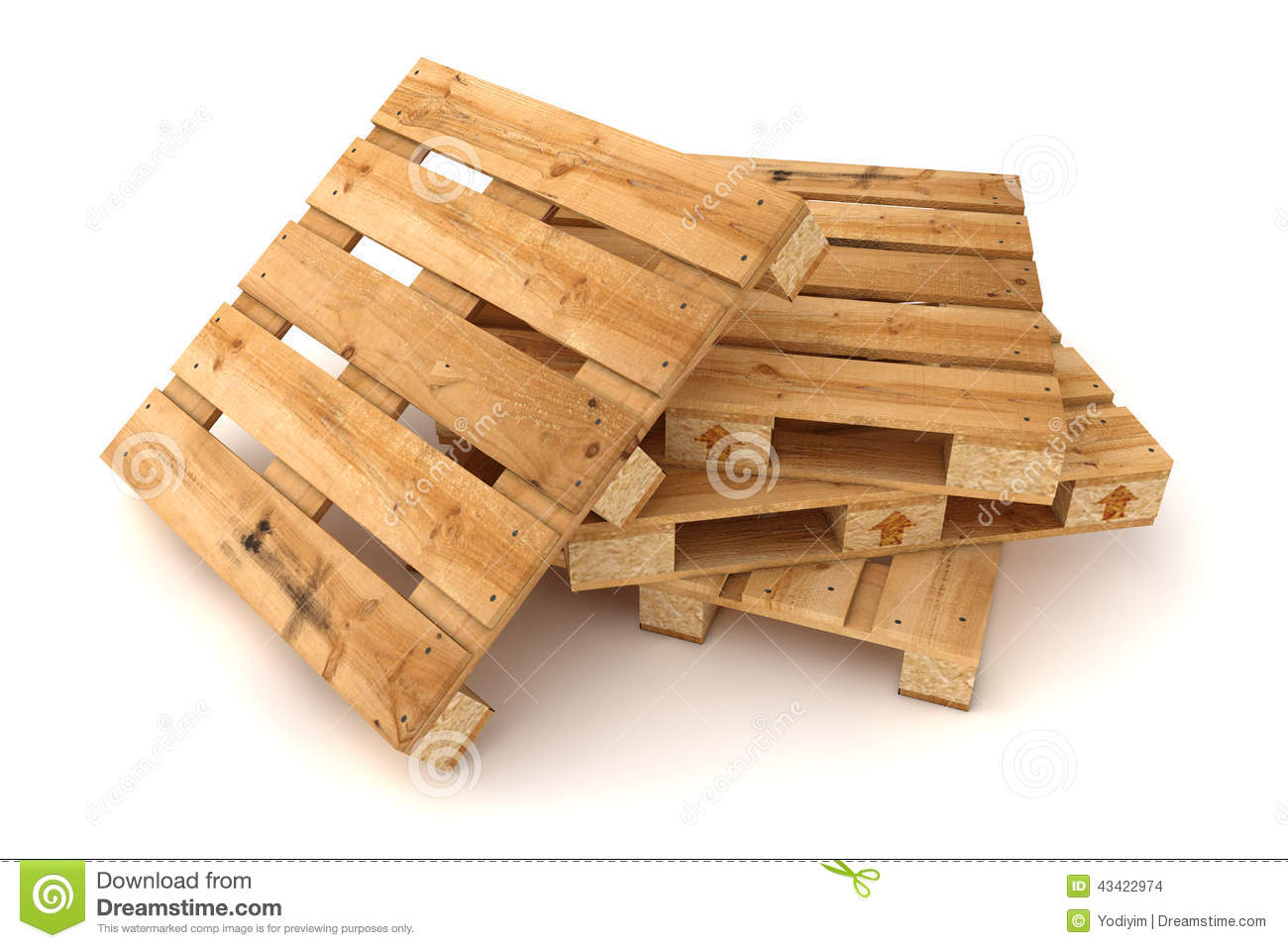 stack of wooden pallets stock photo image 43422974