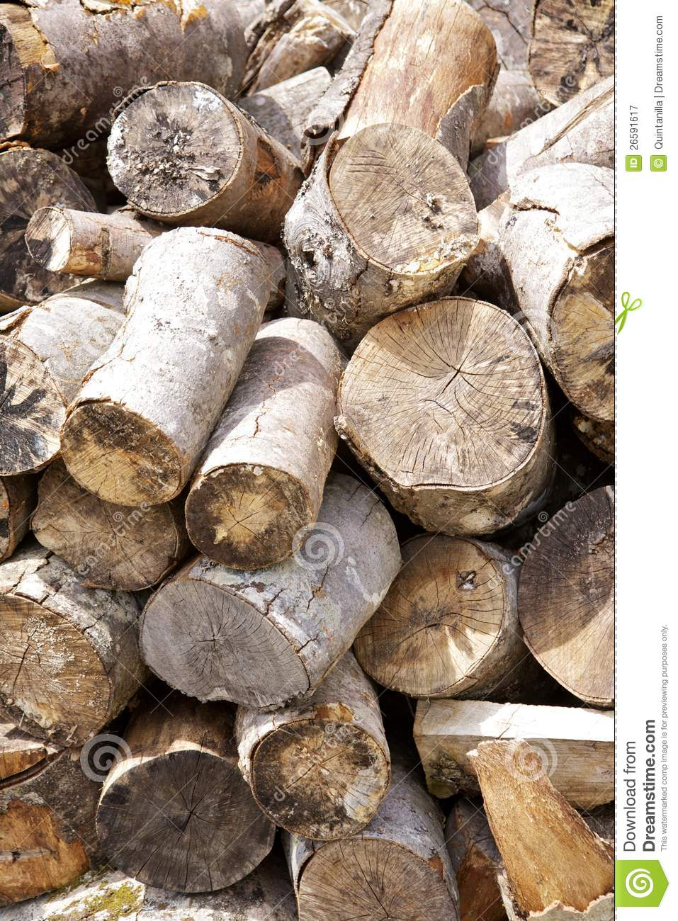 how to cut firewood fast