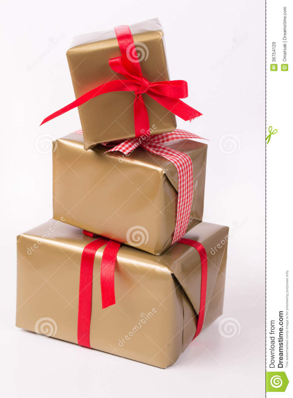 Stacked gift boxes royalty free stock images image