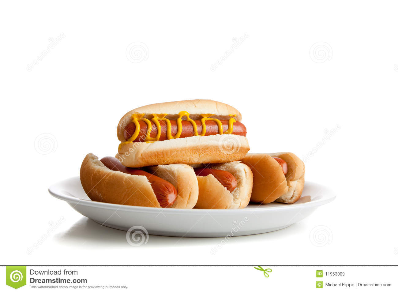 Hot Dogs And Hot Dog Buns