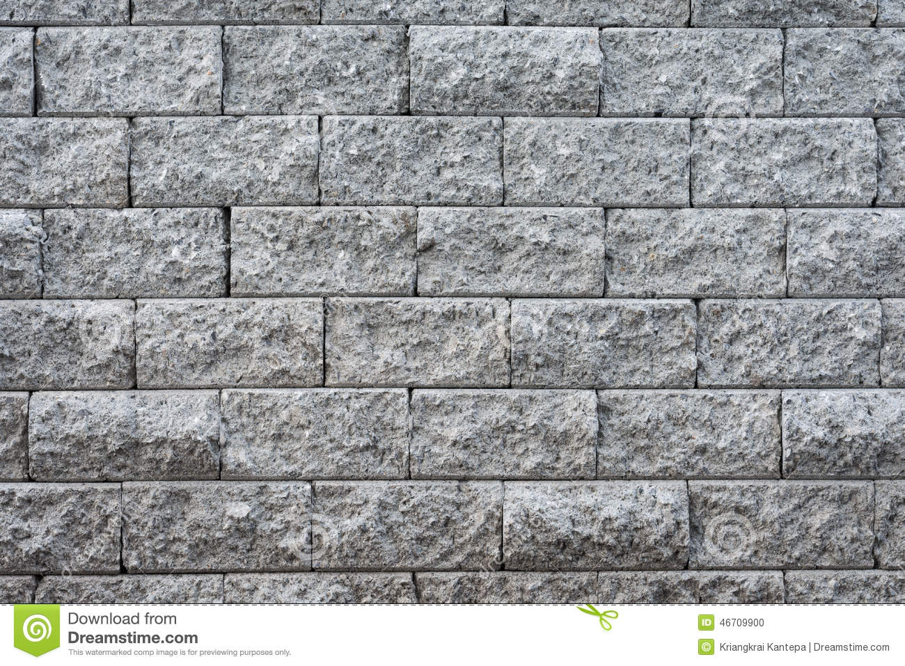 Stacked Slate Bricks Wall Texture Stock Photo Image
