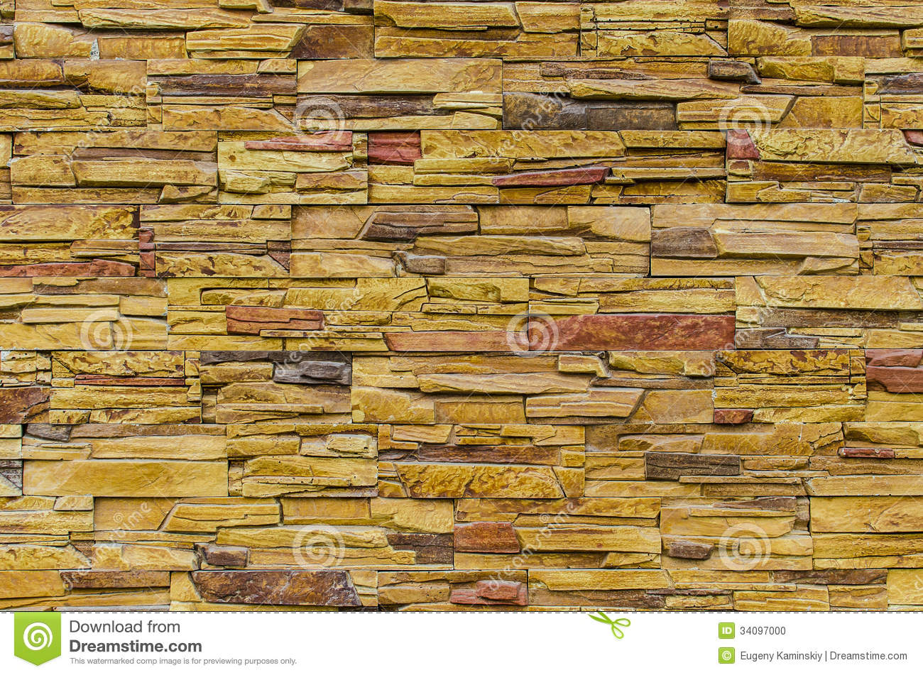 What Color Is Slate : Stacked slate stone wall stock photo image