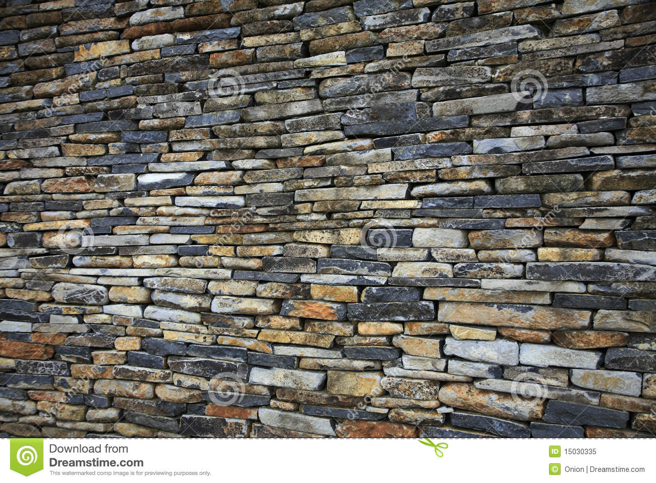 Stacked Stone Wall Royalty Free Stock Photo Image 15030335