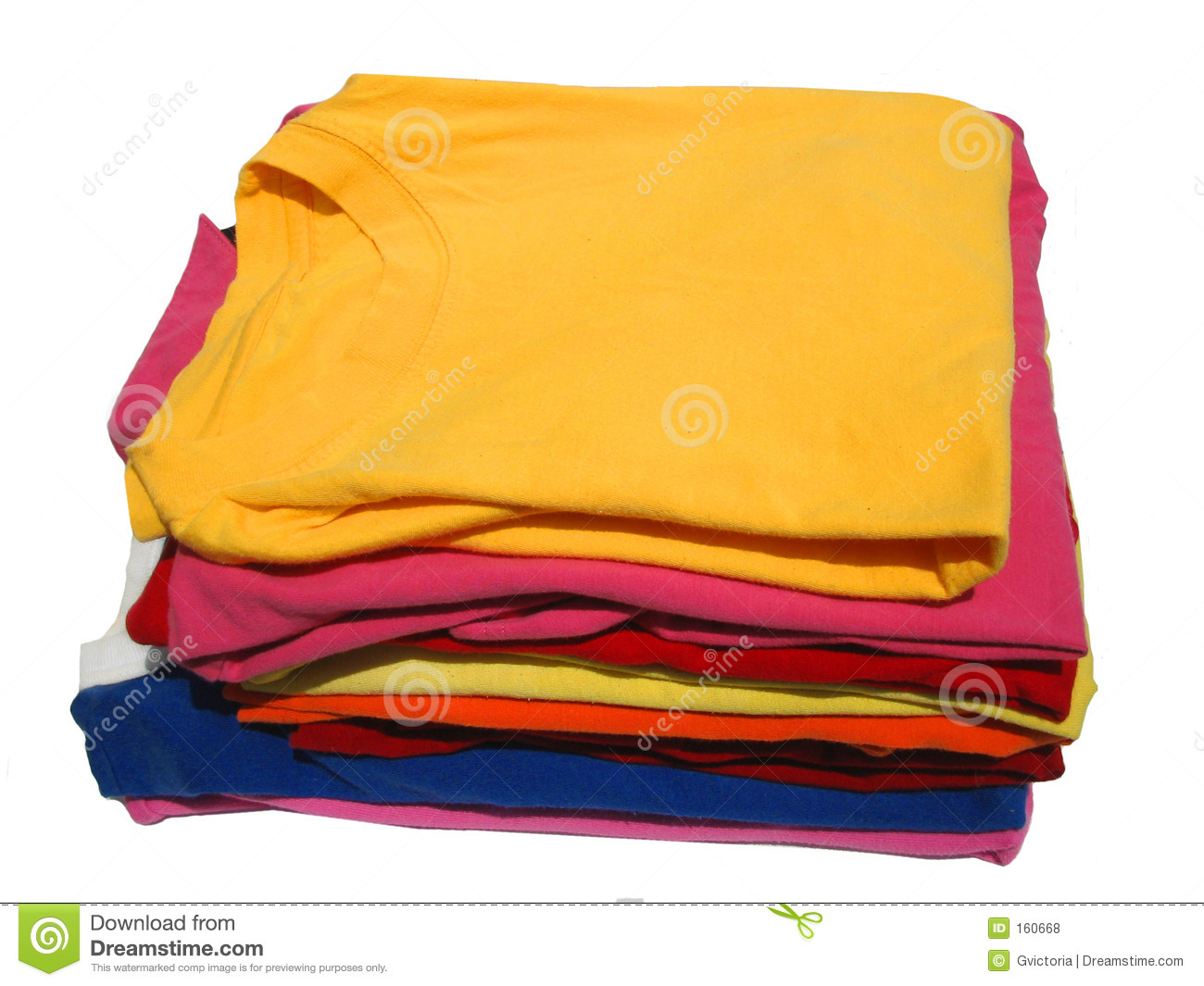 Stacked T-shirts