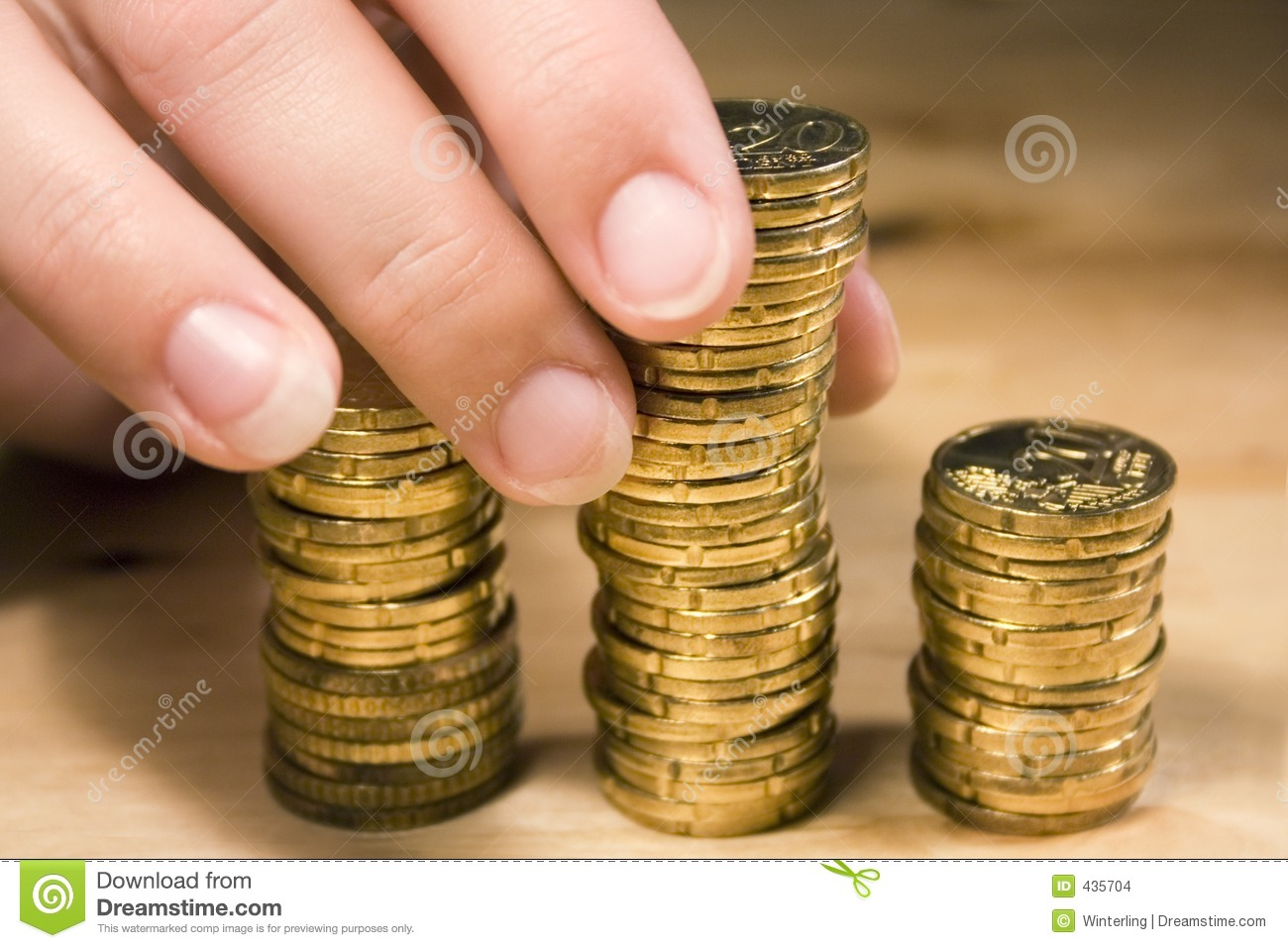 Stacking Up Coins #1