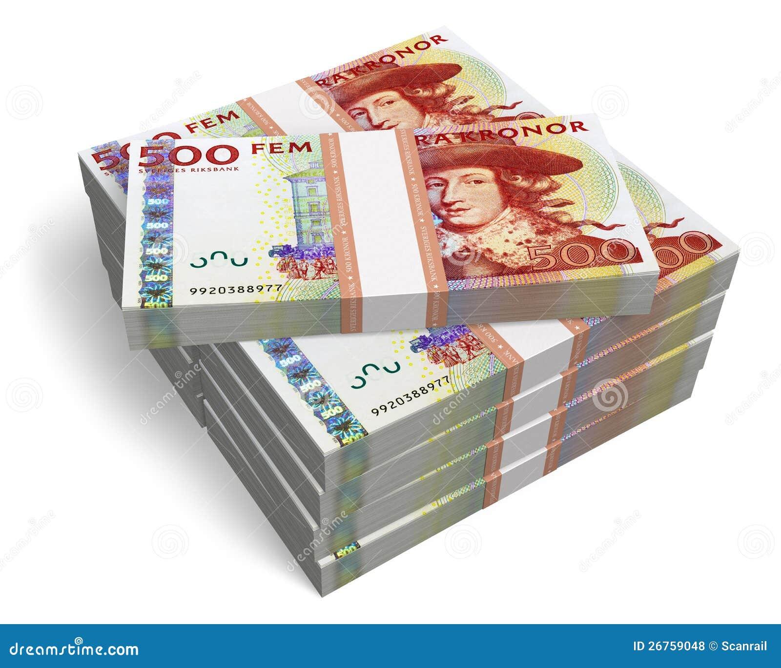 500 Sek To Eur