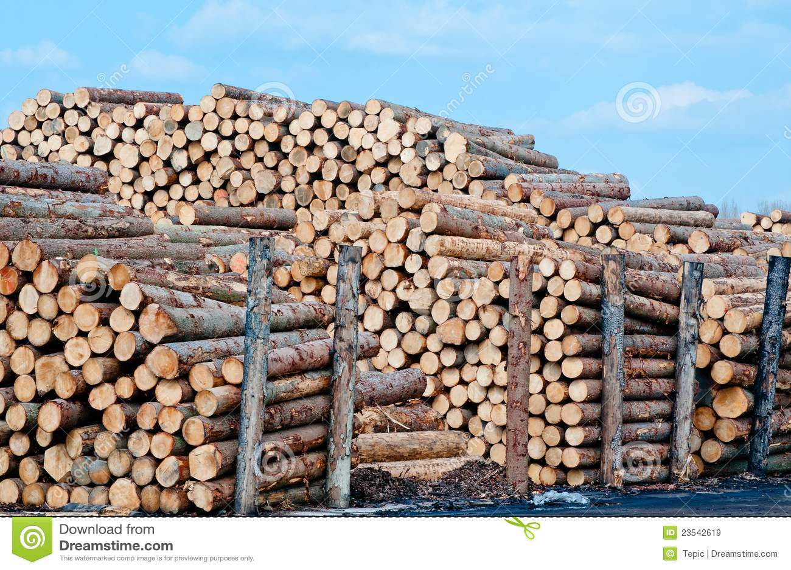 Stacks of lumber stock photography cartoondealer