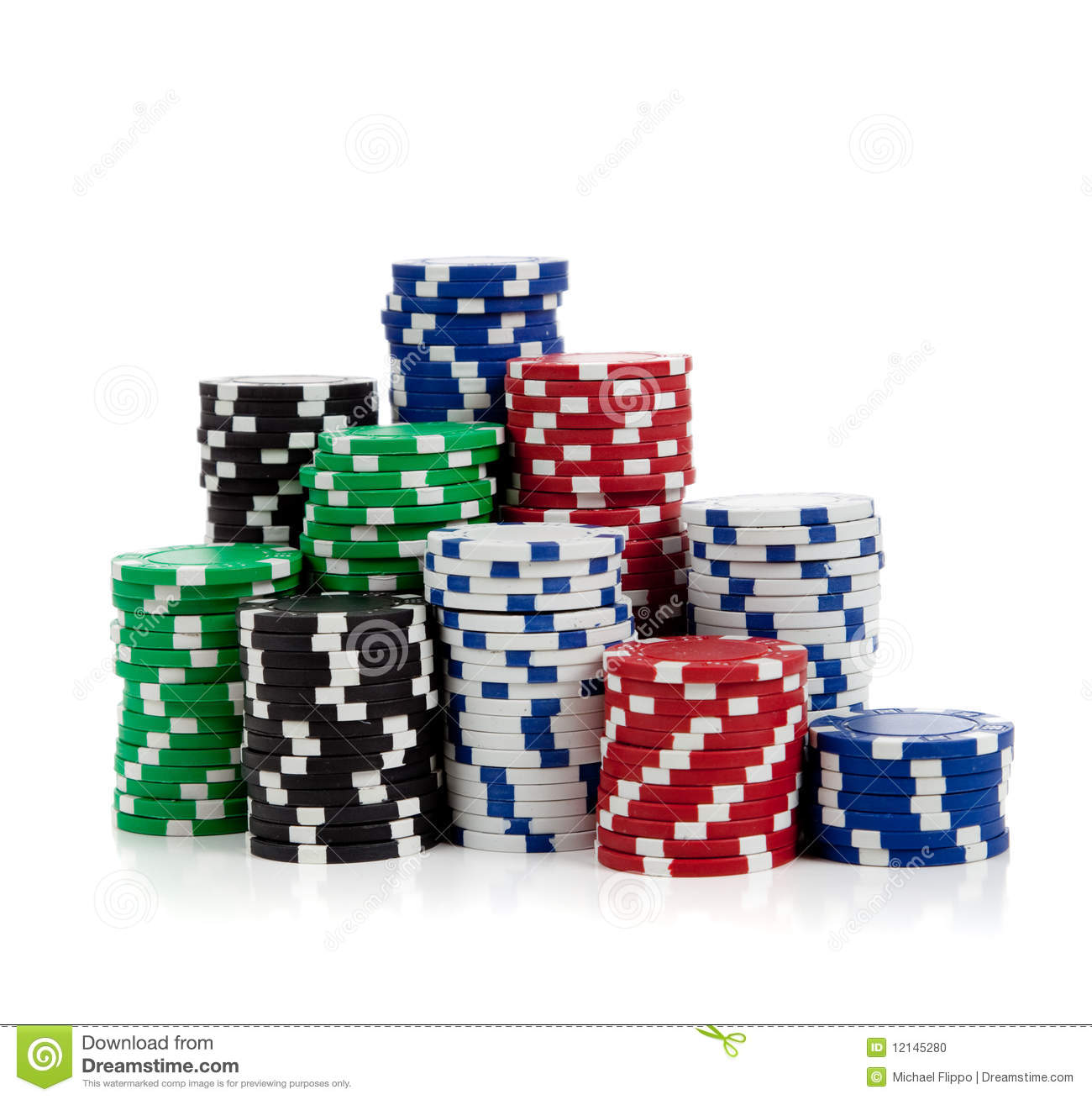 Pandora's Cave: IMAGES NEEDED Stacks-poker-chips-white-12145280