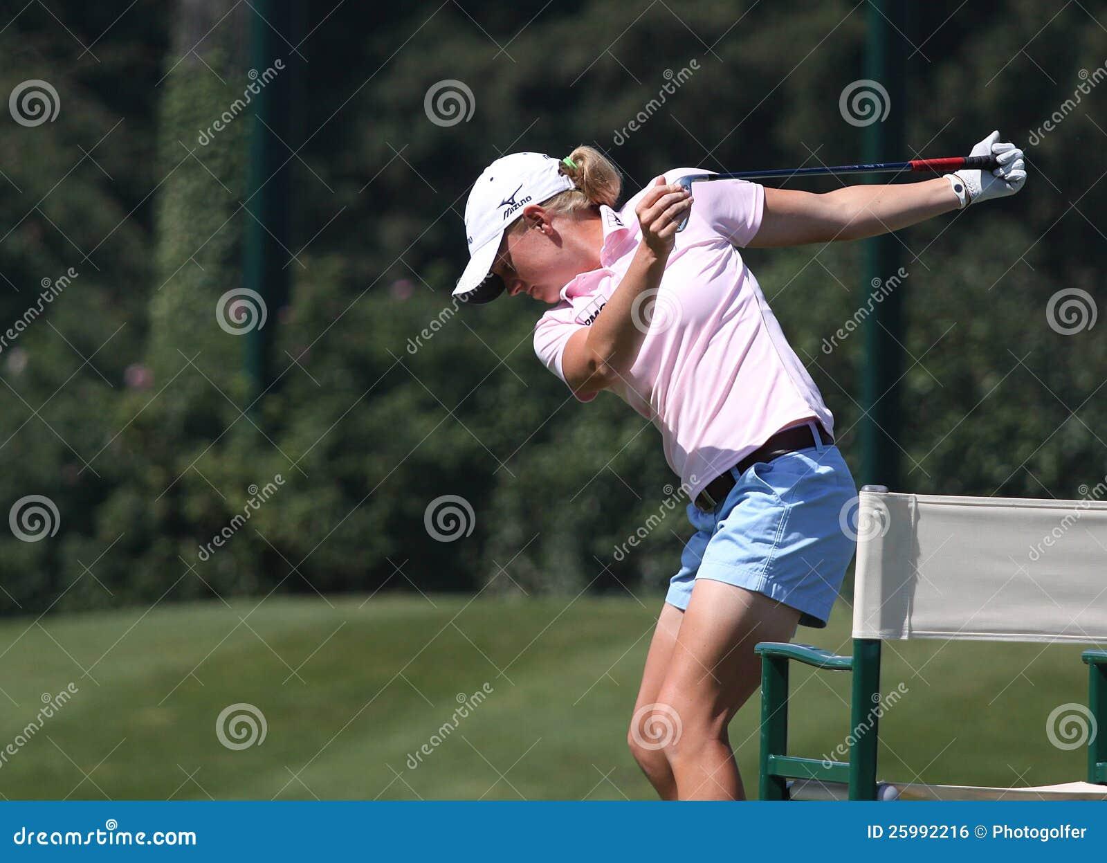 Stacy Lewis på golf Evian styrer 2012