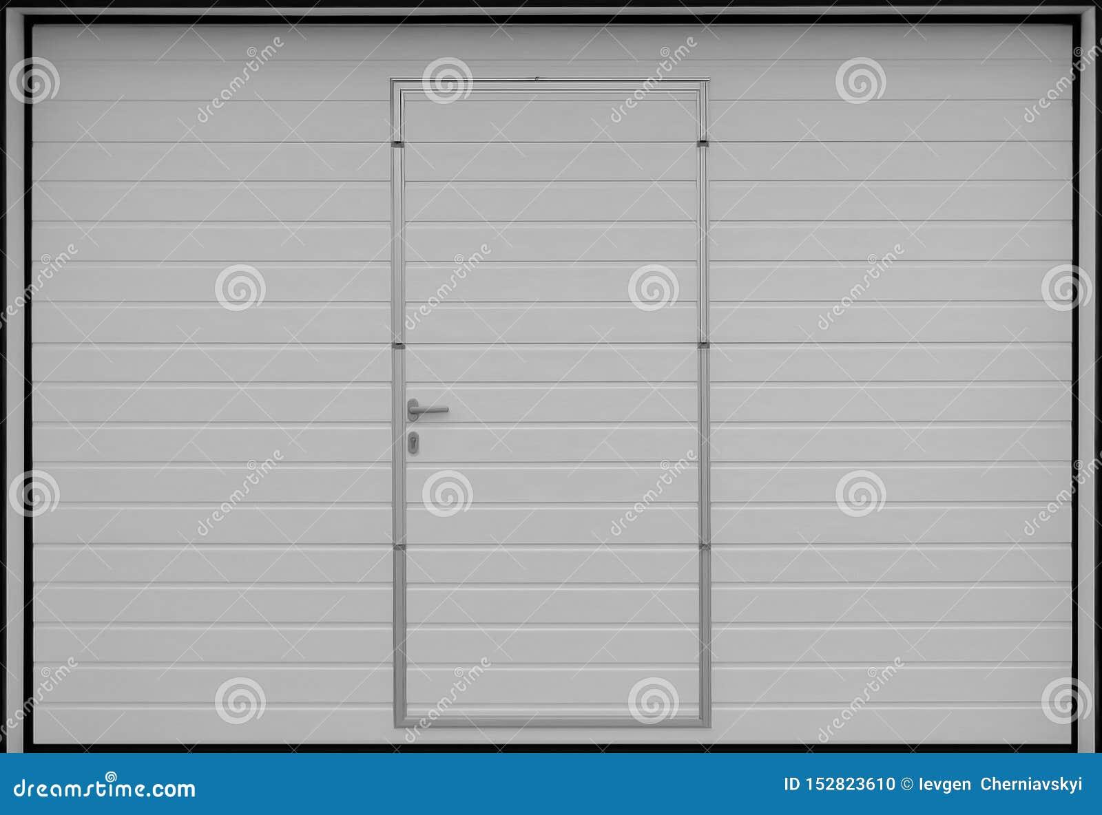 Stacza się w górę garaż drzwiowych bram, tekstury ilustracja