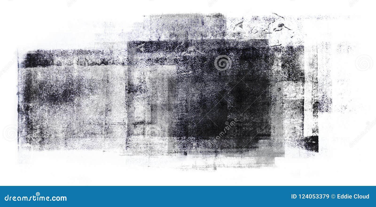 Staczająca się Akrylowa farba Odizolowywająca na Białym tle