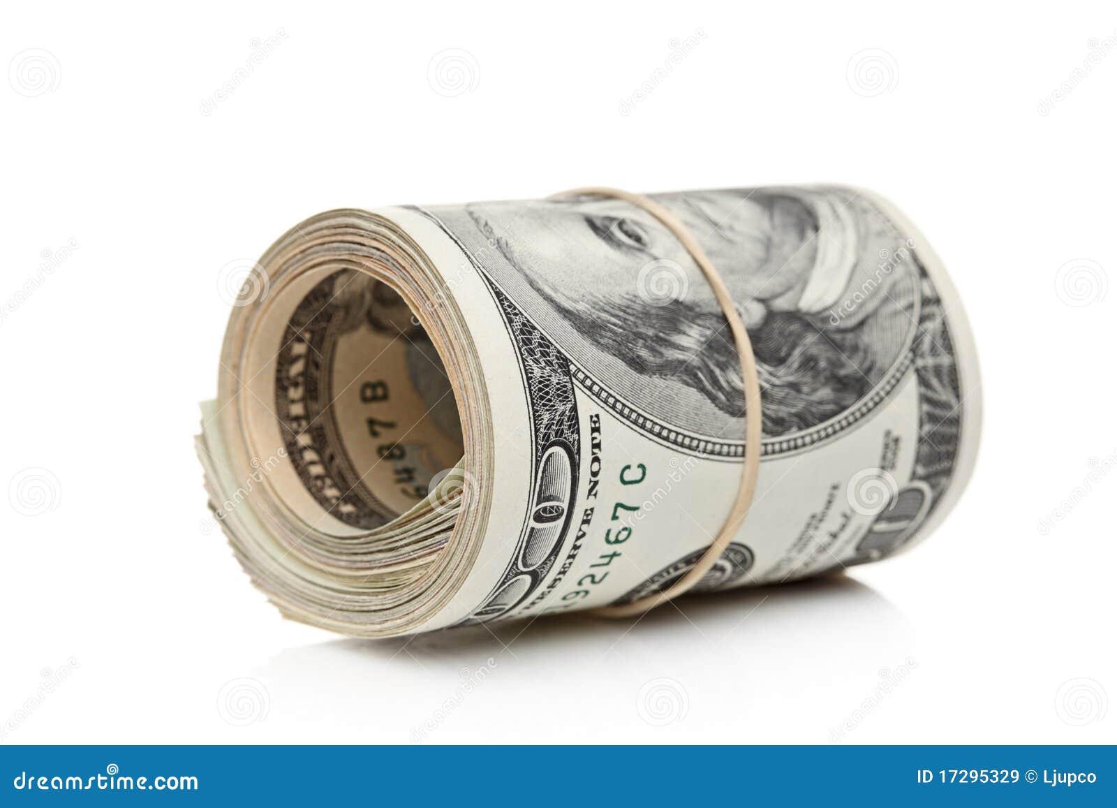 Staczający się zespołów dolary dociskali w górę my