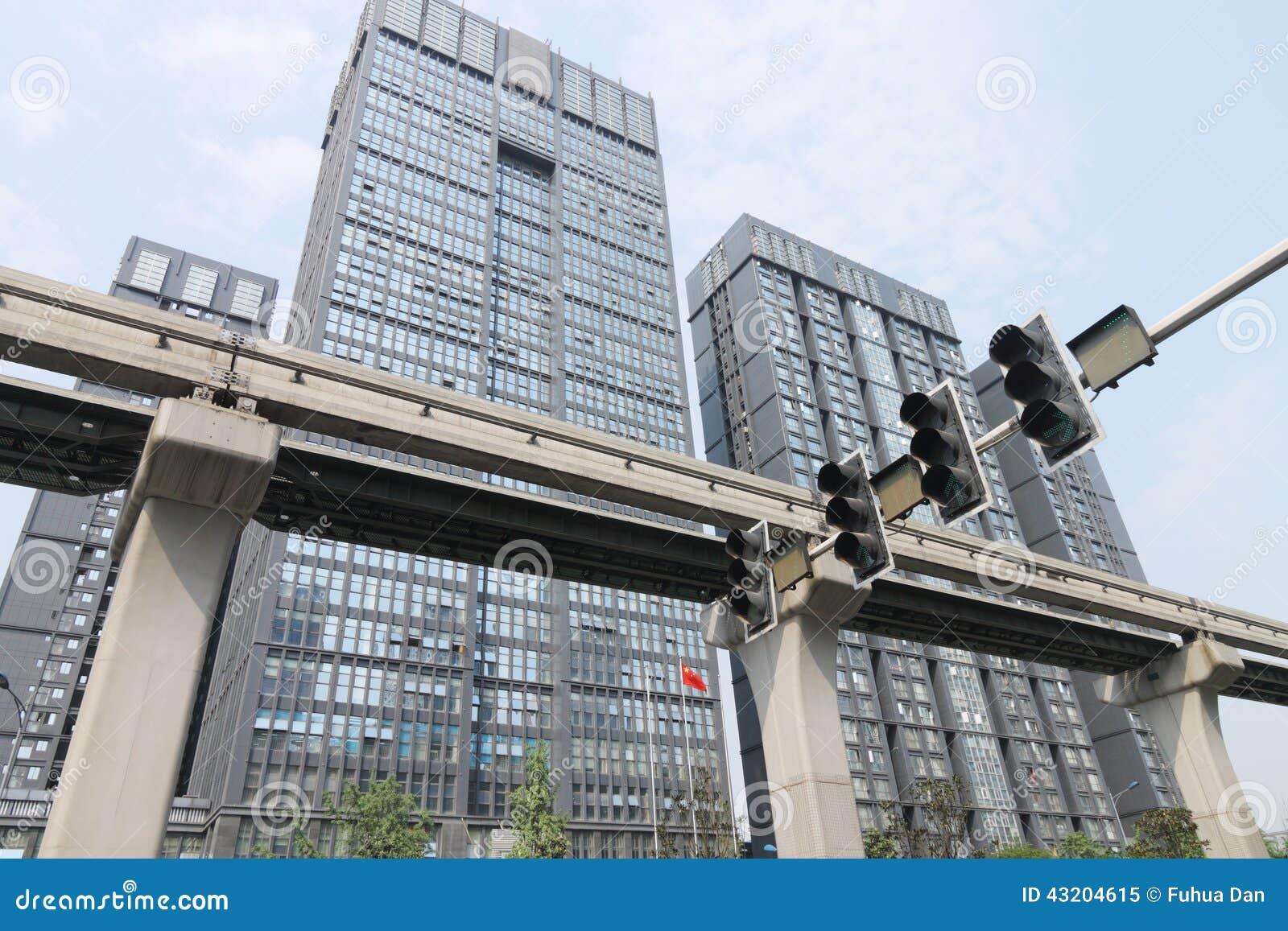 Download Stad fotografering för bildbyråer. Bild av kontor, gångtunnel - 43204615