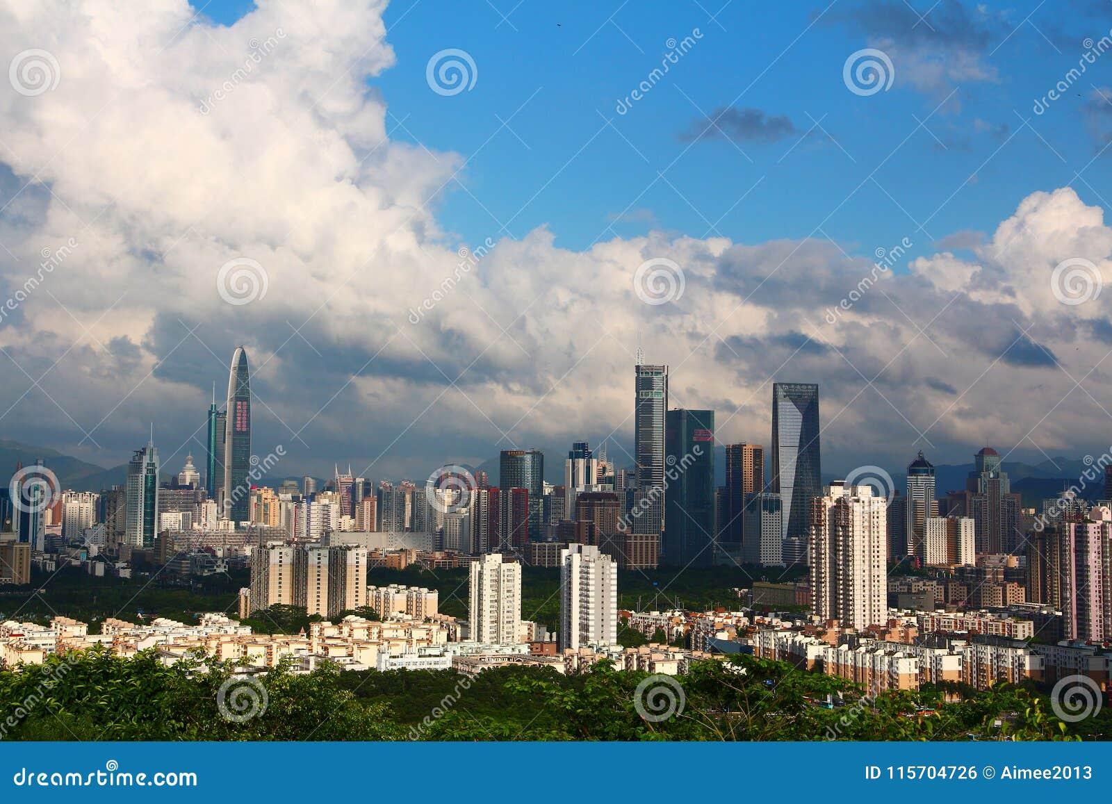 Stad av Shenzhen