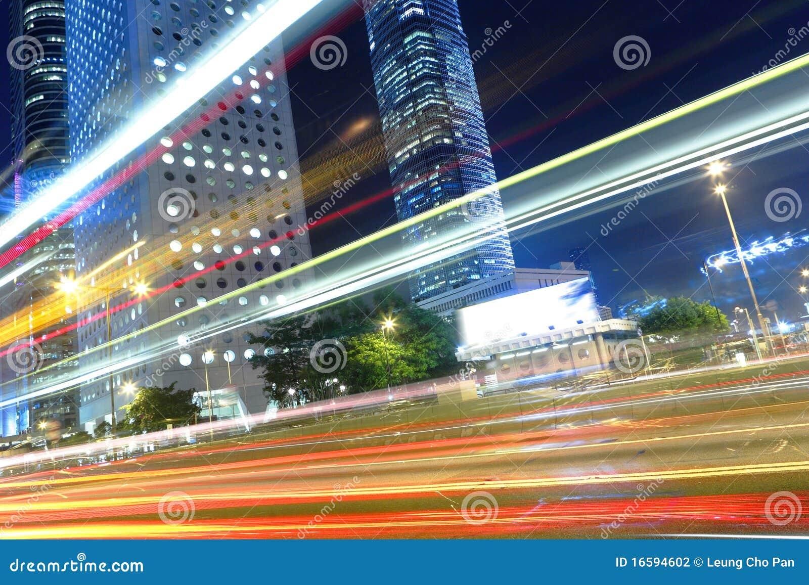 Stad bij nacht