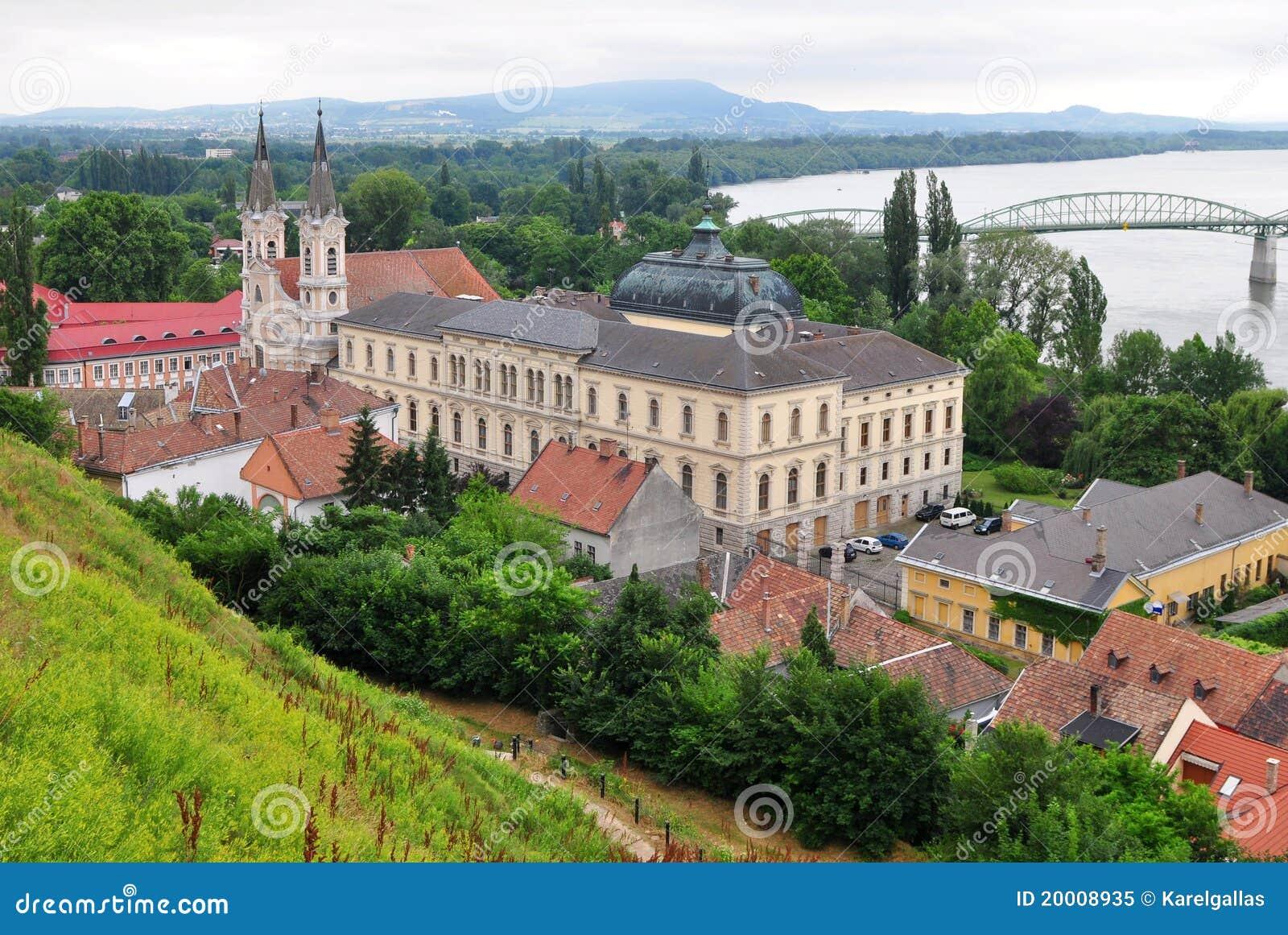 Stad Esztergom, Hongarije
