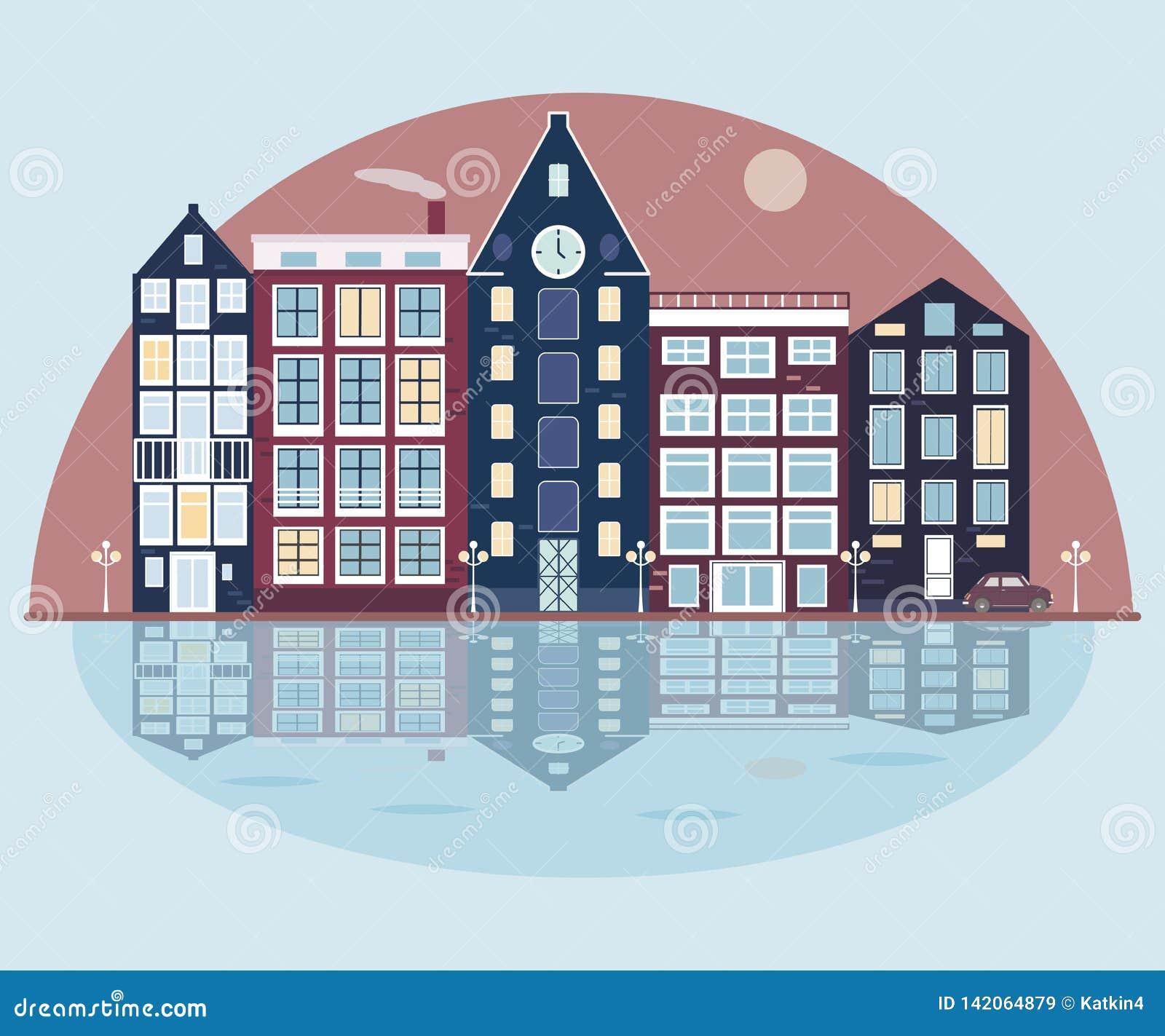 Stad op het Meer