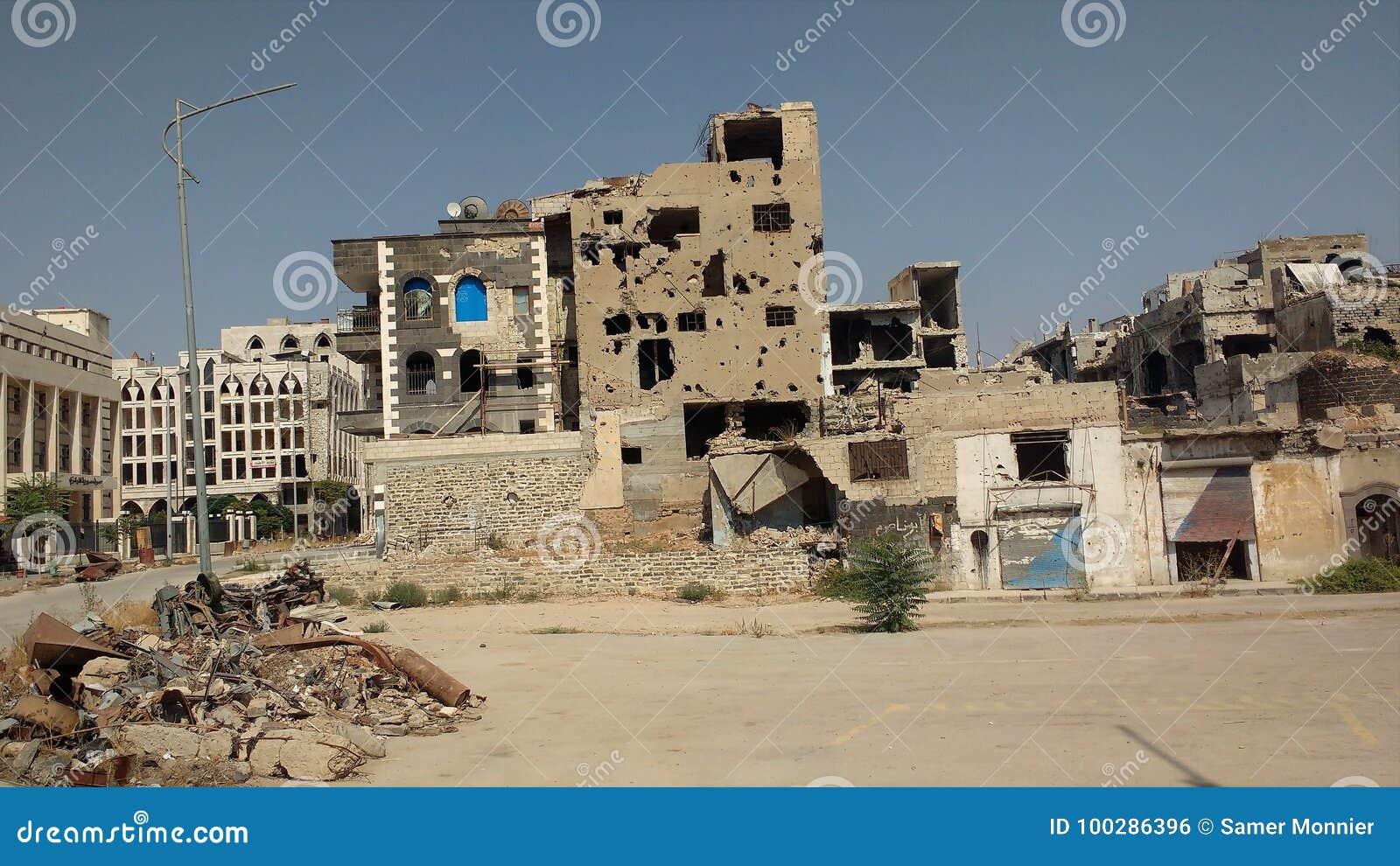 Stad van homs na oorlog