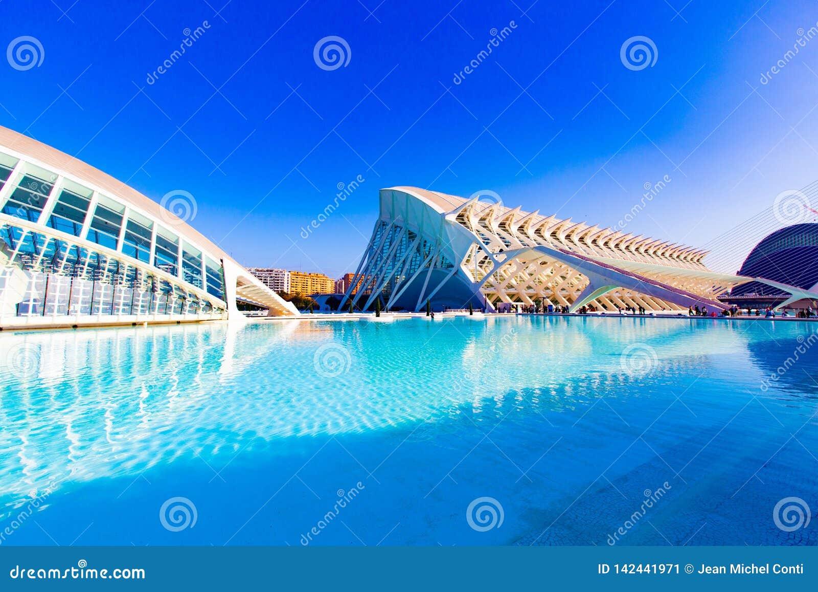 Stad van Kunsten en Wetenschappen Valencia