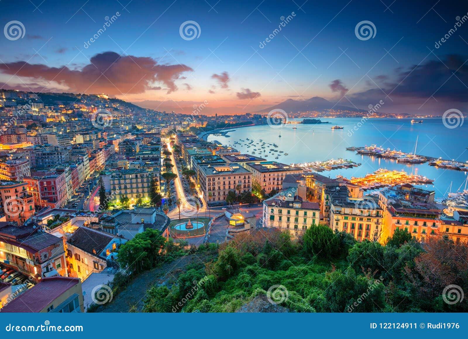 Stad van Napels, Italië
