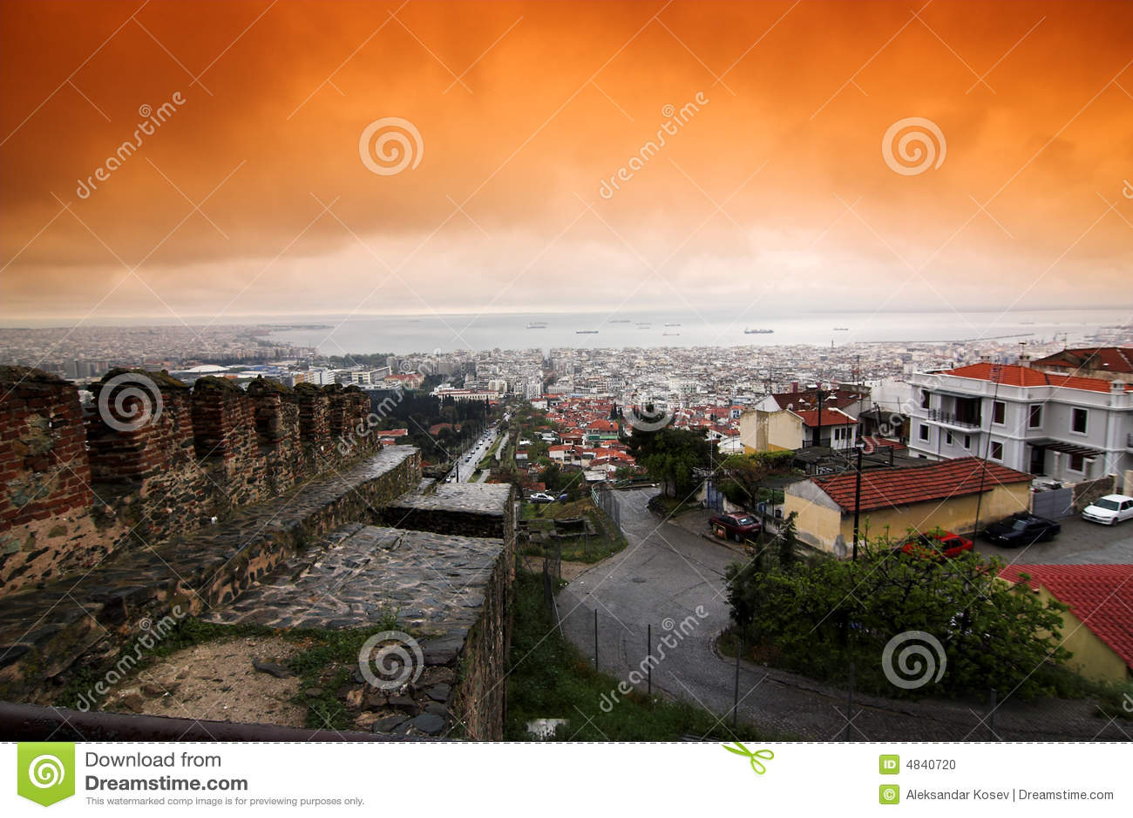Stad van Thessaloniki