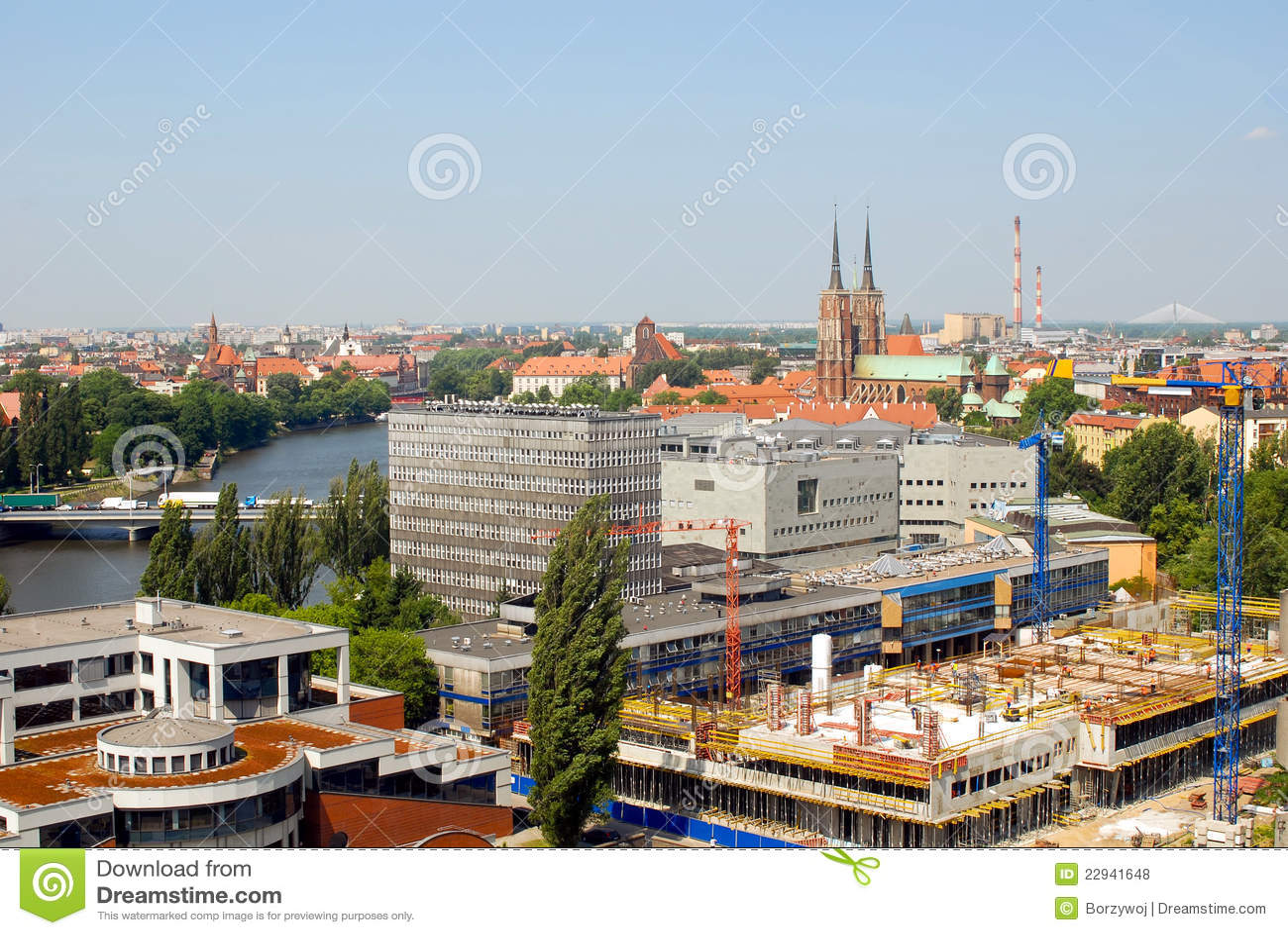 Stad van Wroclaw