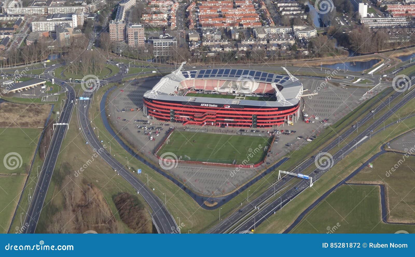 Stade de football d AFAS pour AZ Alkmaar