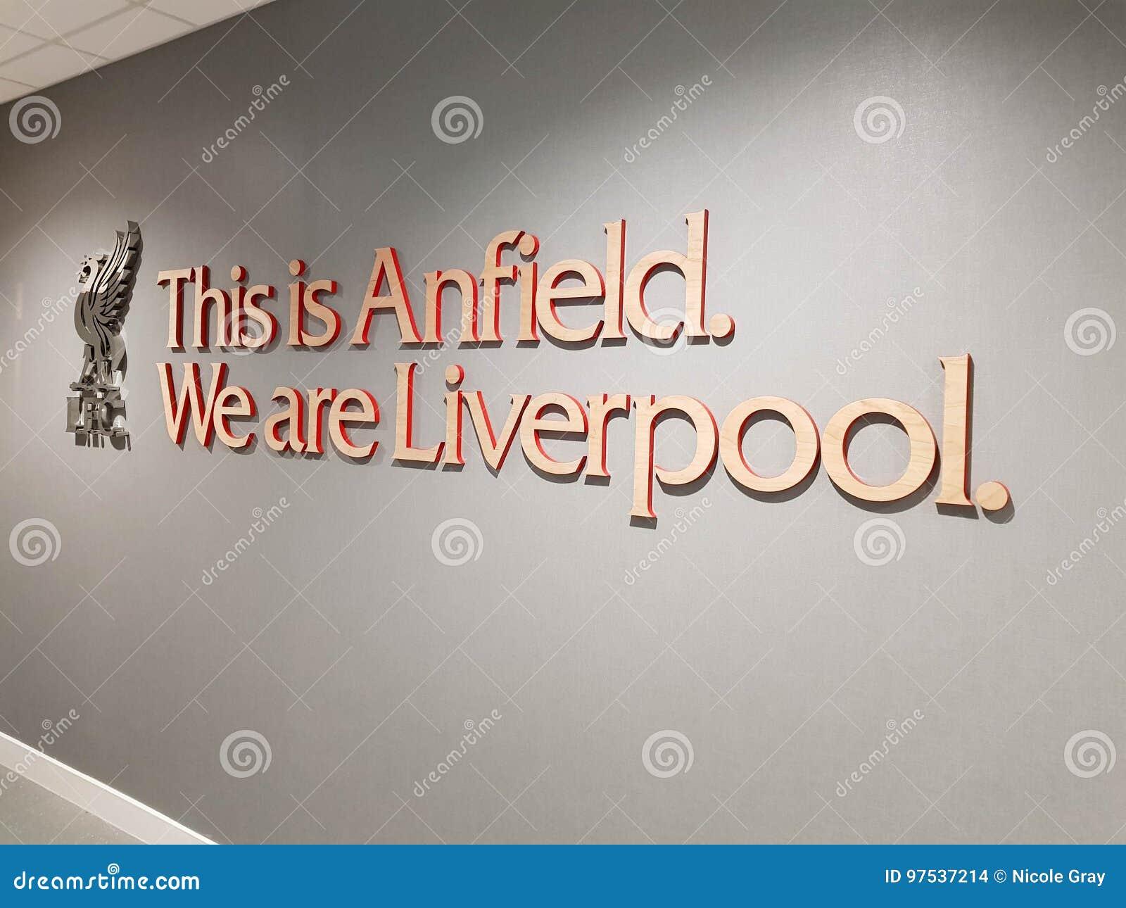 Stade de football d Anfield