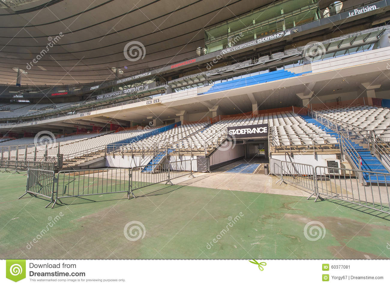 Stade de france photo ditorial image 60377081 - Tribune vip stade de france ...